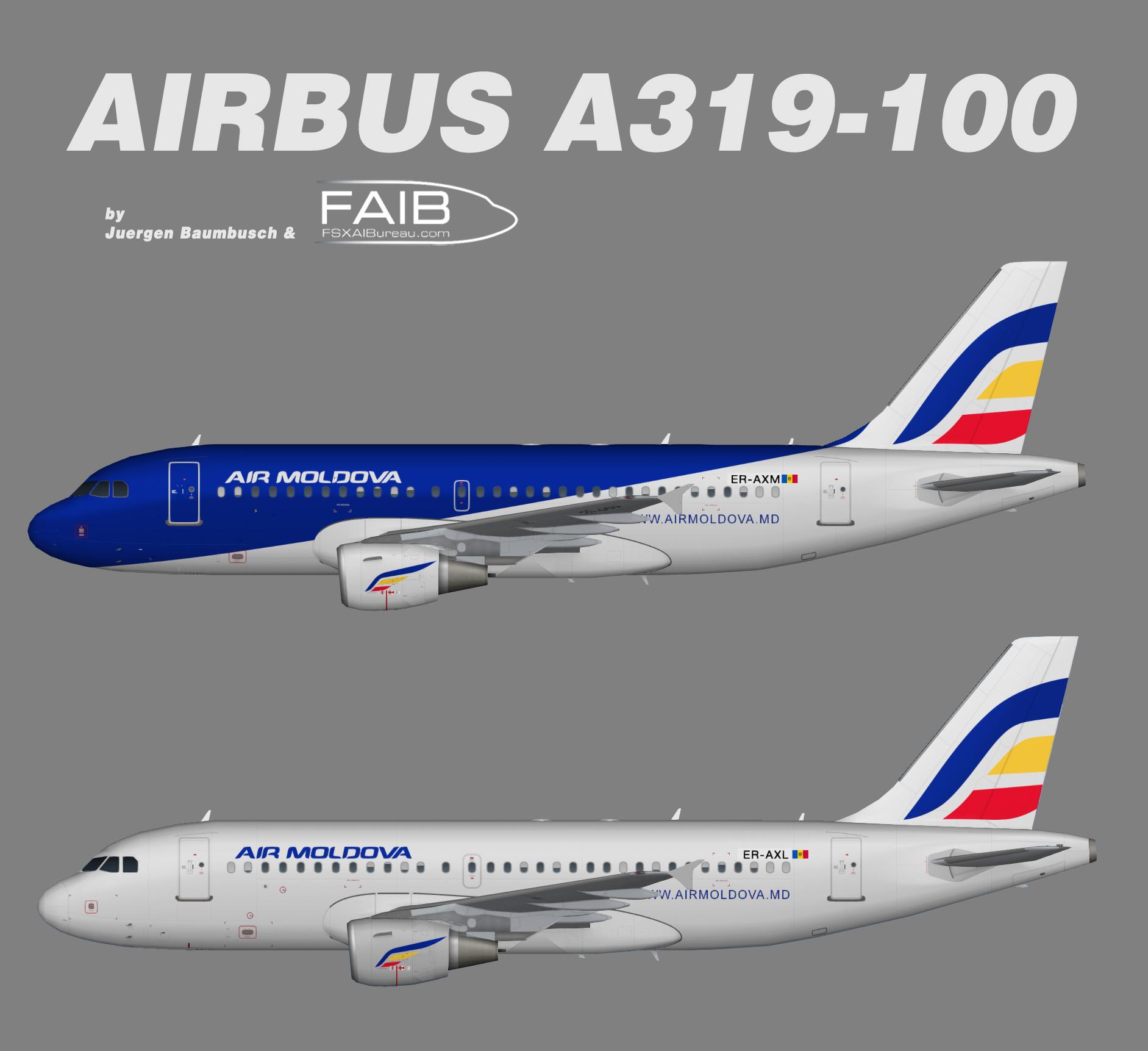 Air Moldova A319-100