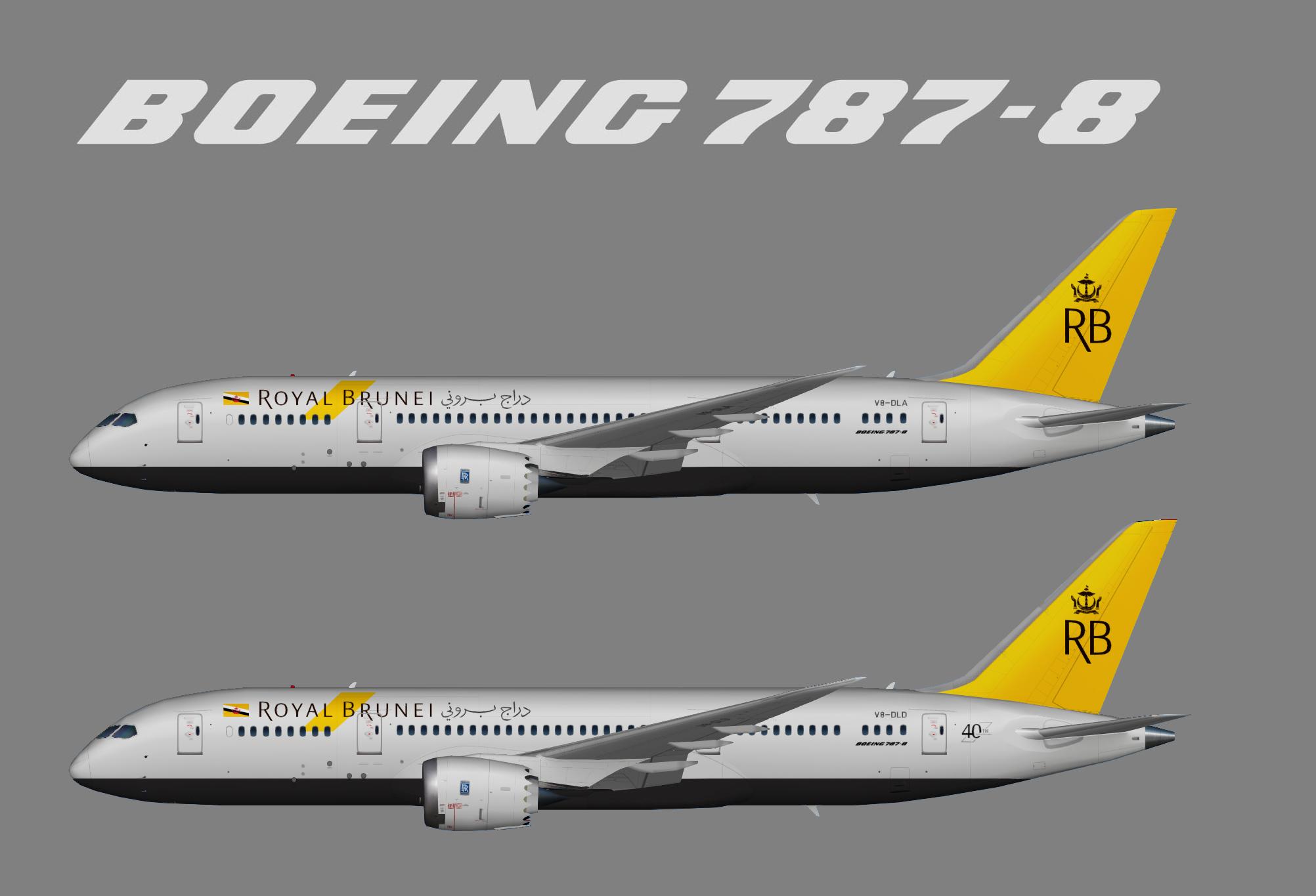 Royal Brunei Boeing 787-8