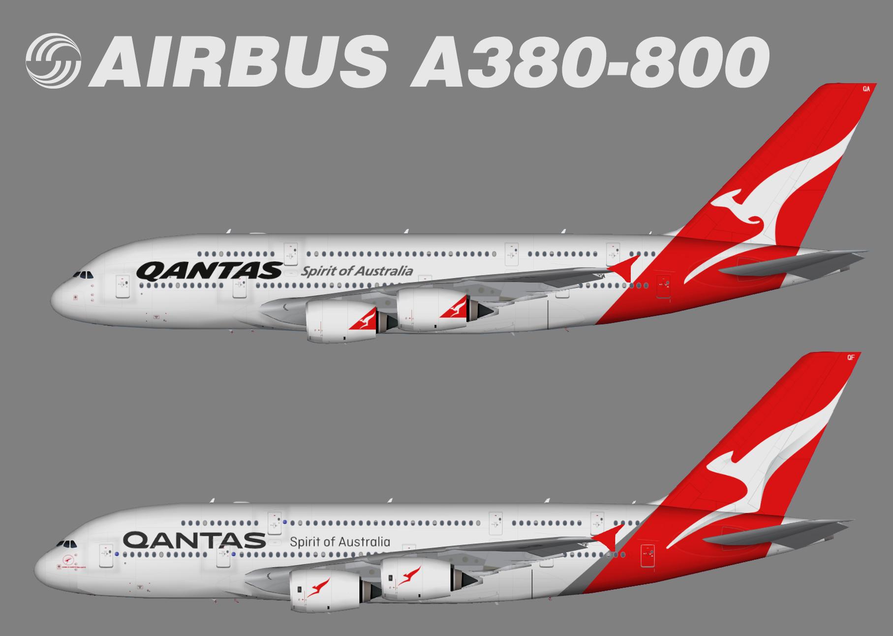 Qantas Airways Airbus A380-800