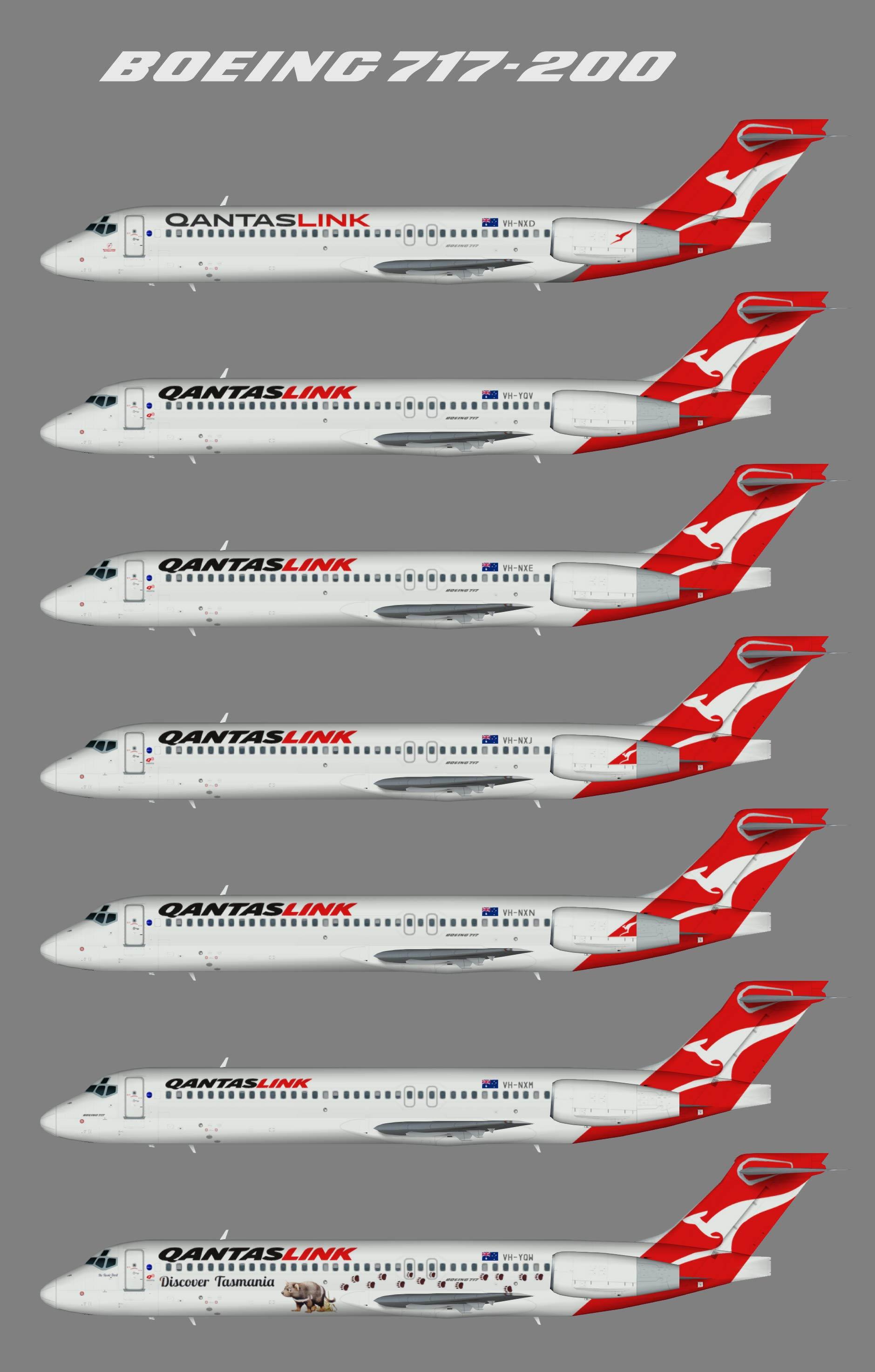 Qantaslink Boeing 717-200