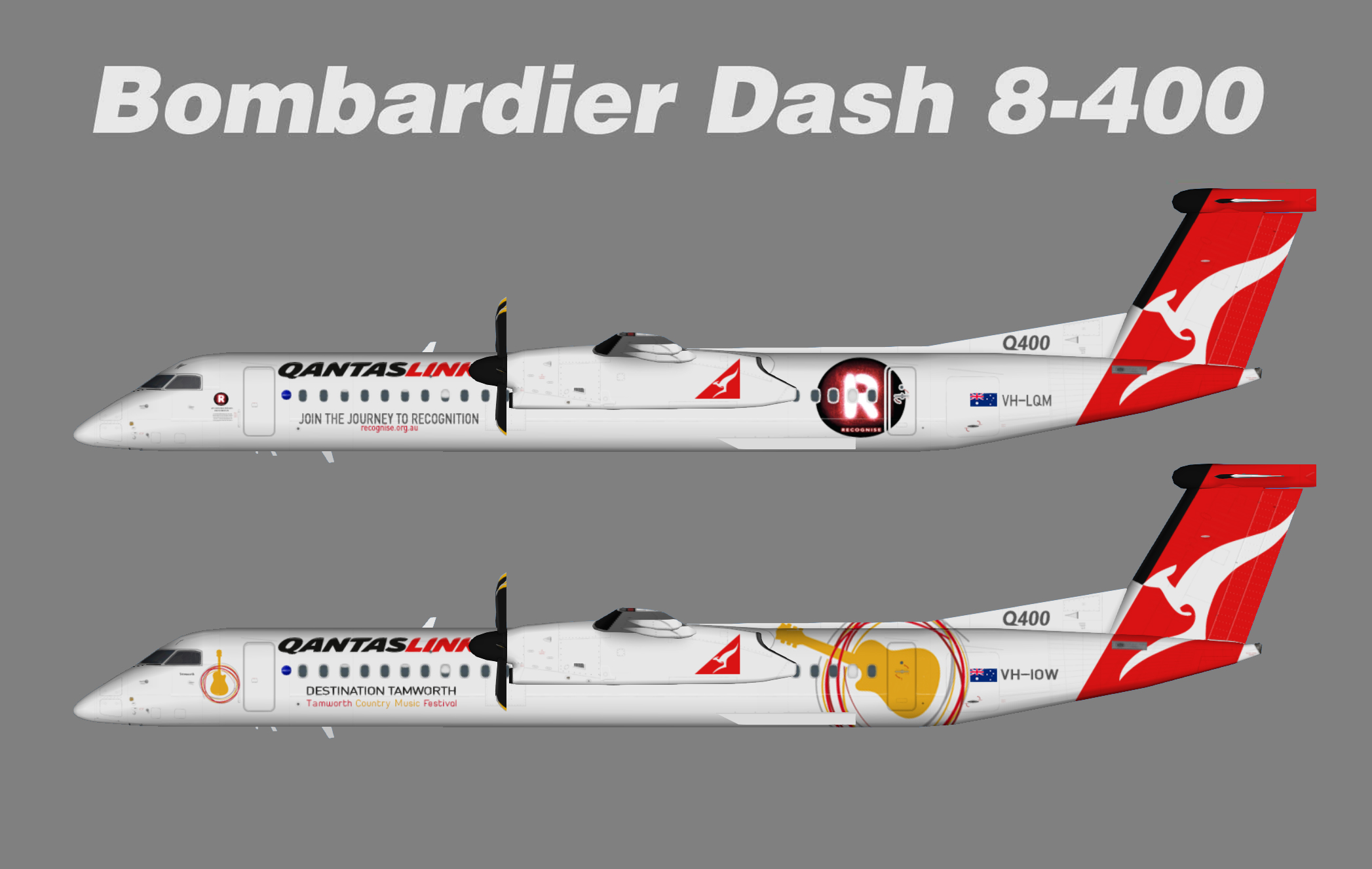 Qantaslink Bombardier Dash8-Q400 Specials