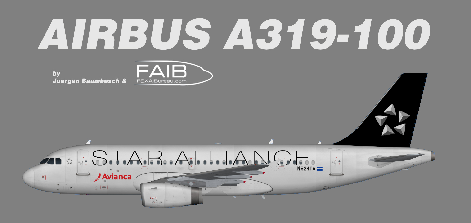 Avianca El Salvador Airbus A319 Star Alliance