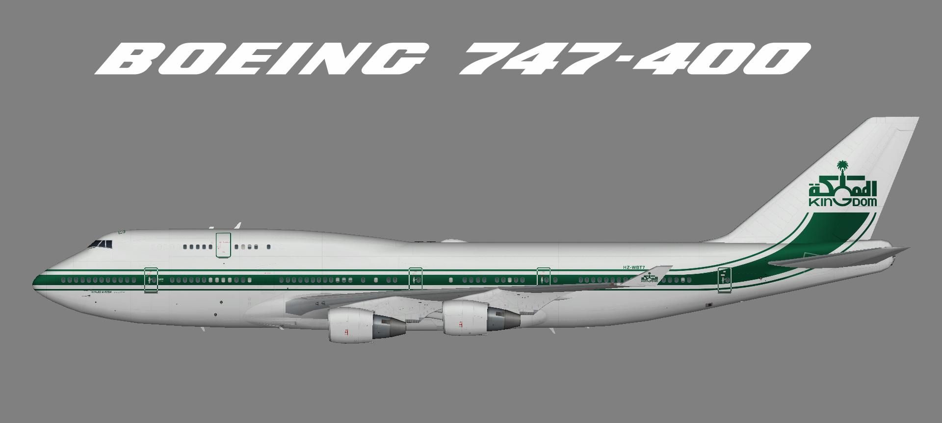 Kingdom Holding 747-400