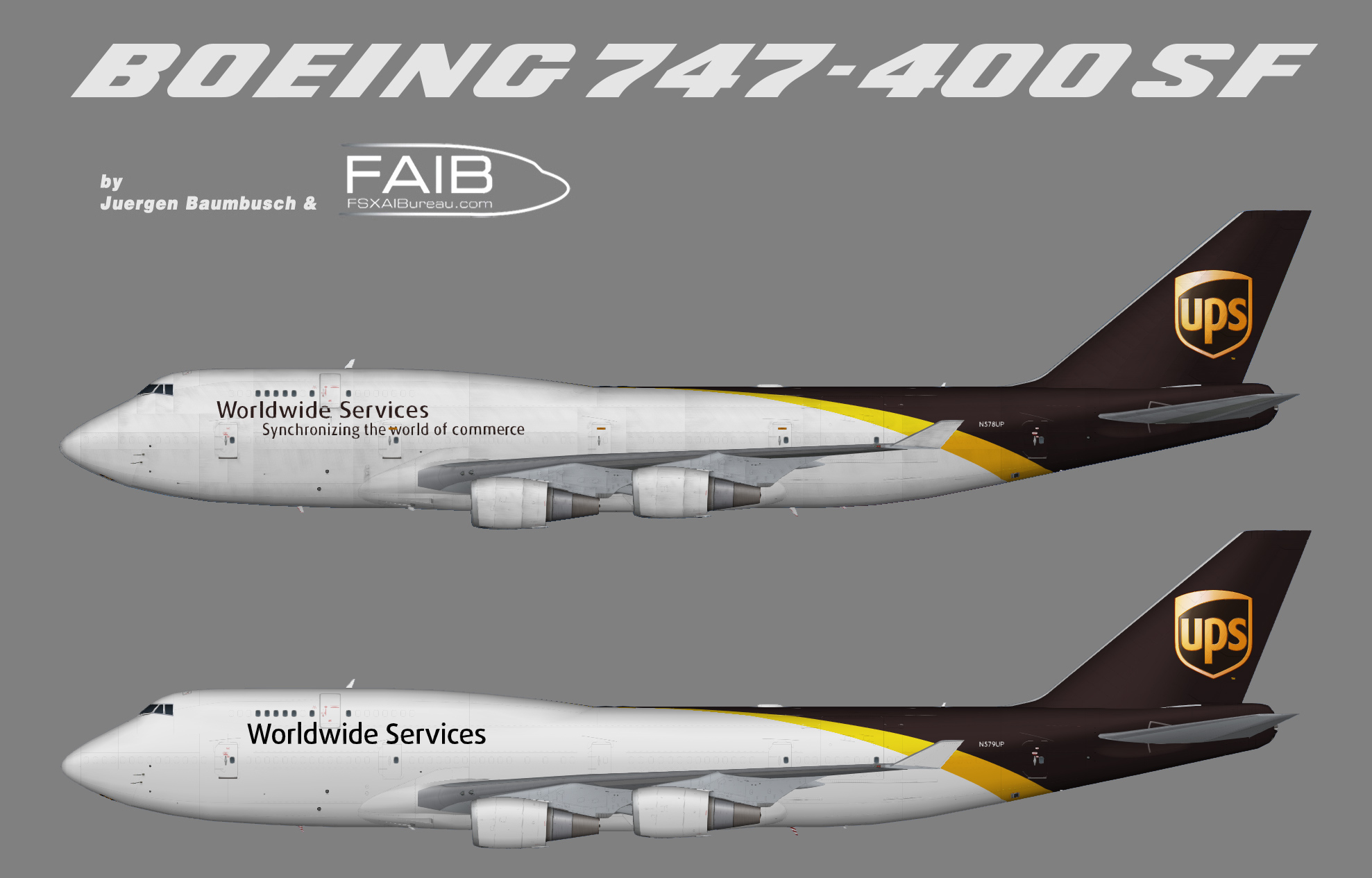 United Parcel Service Boeing 747-400(BCF)