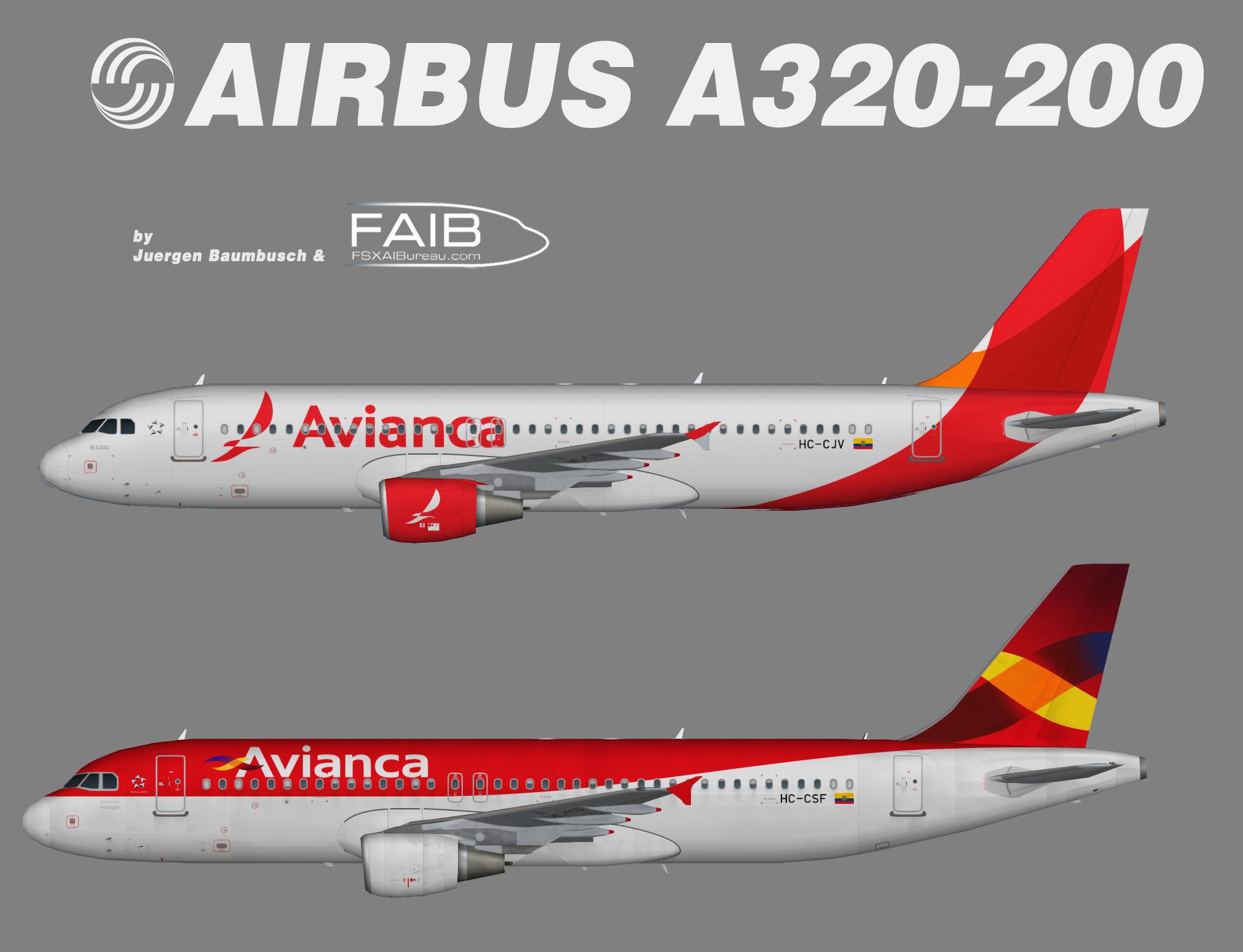 Avianca Ecuador Airbus A320-200