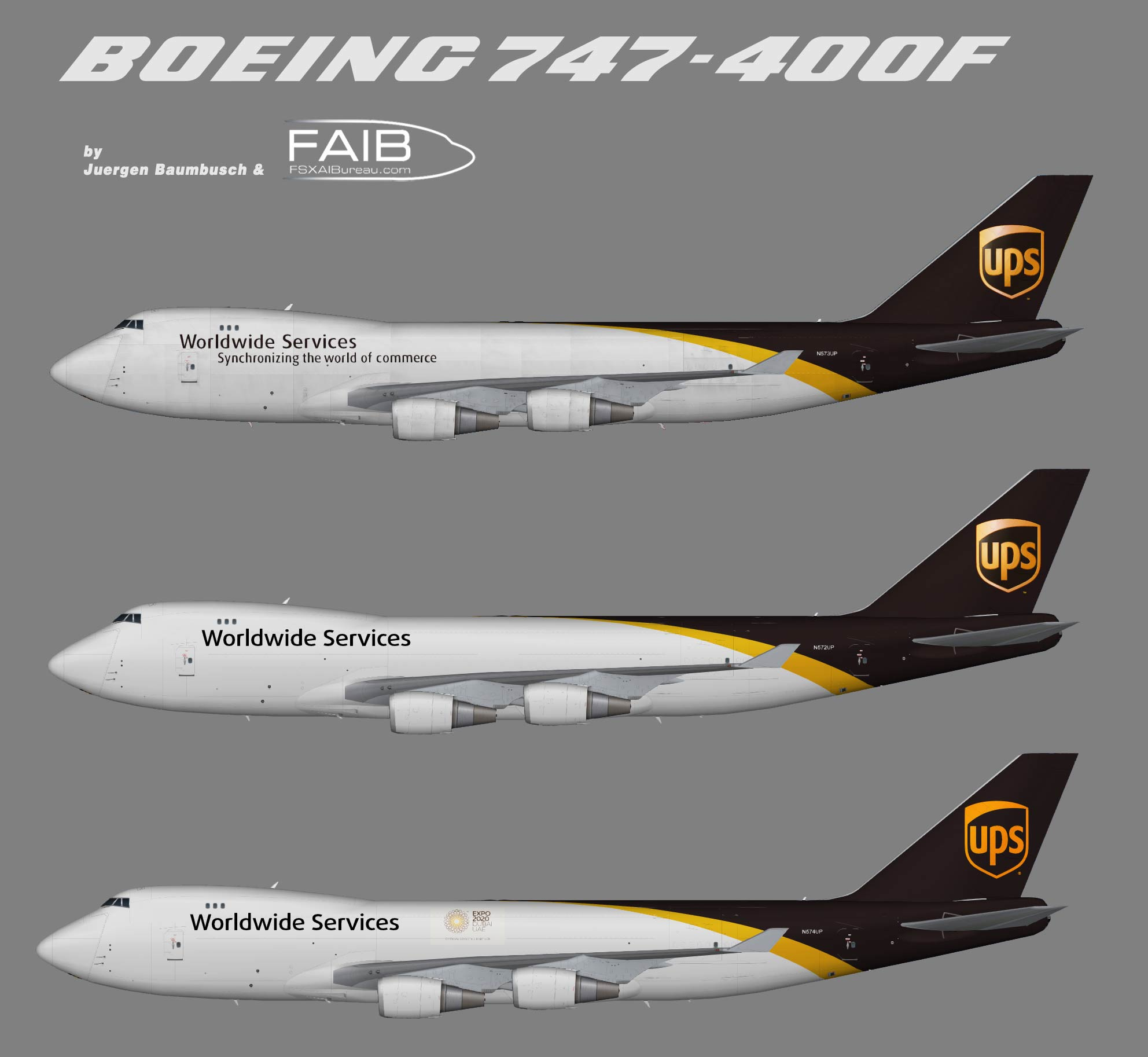 United Parcel Service Boeing 747-400F