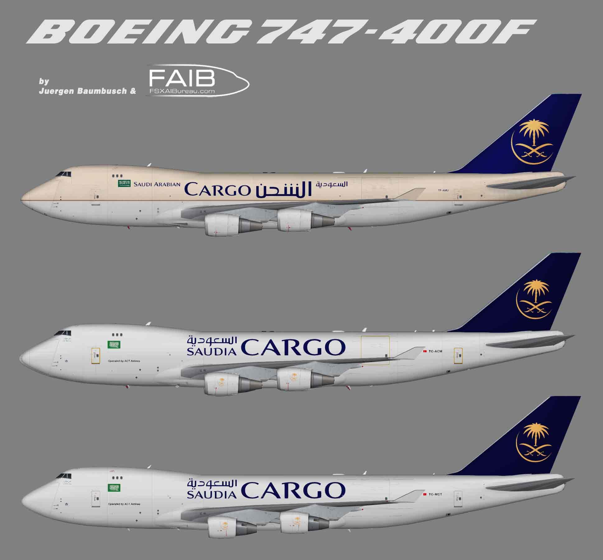 Saudia Cargo Boeing 747-400F