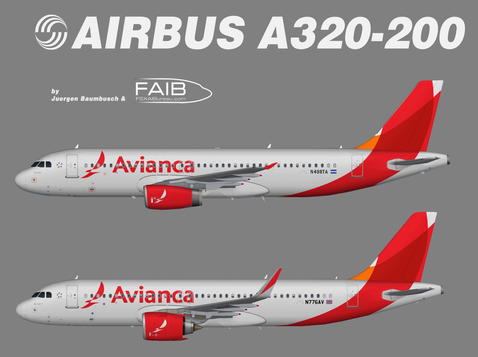 Avianca Costa Rica Airbus A320-200