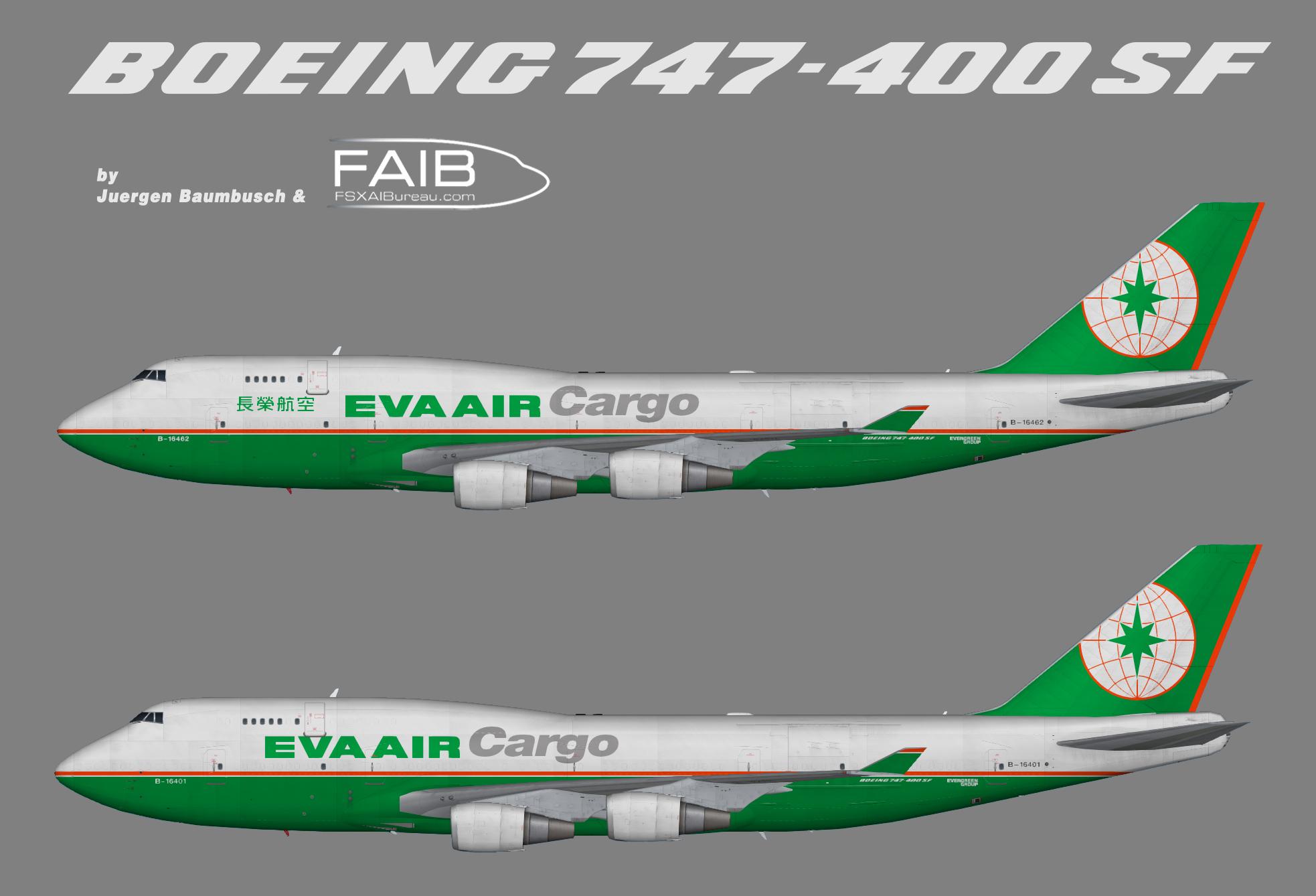 EVA Air Cargo Boeing 747-400(BCF)