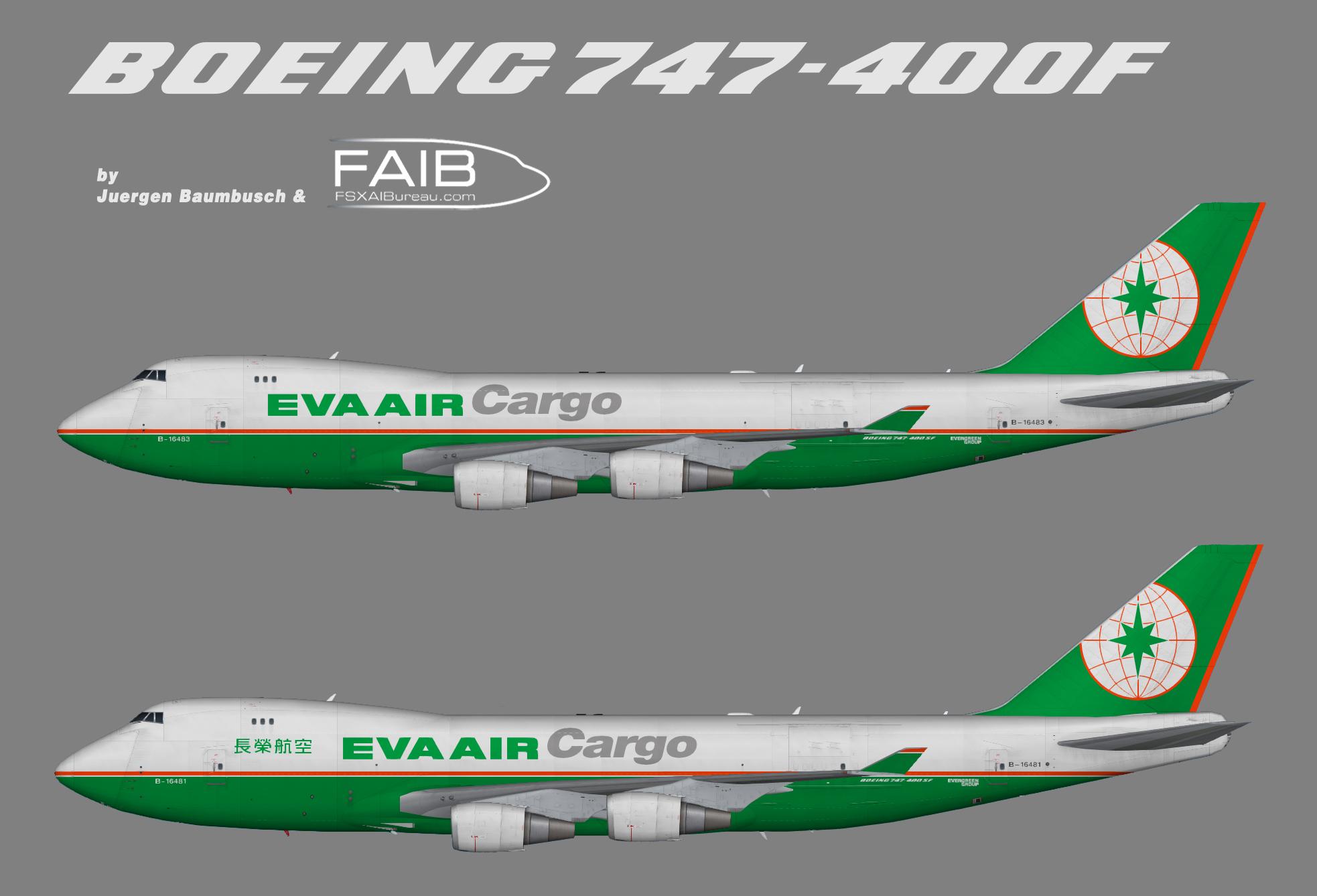 EVA Air Cargo Boeing 747-400F
