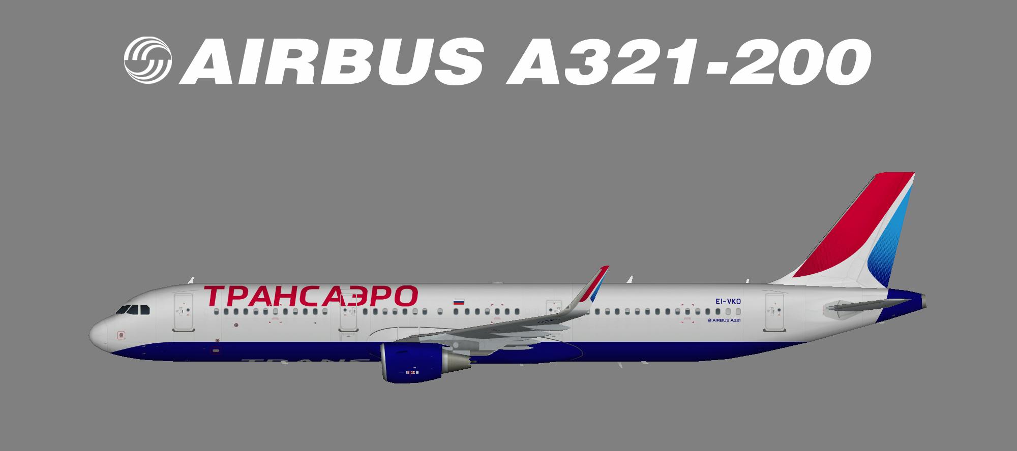 Transaero A321-200