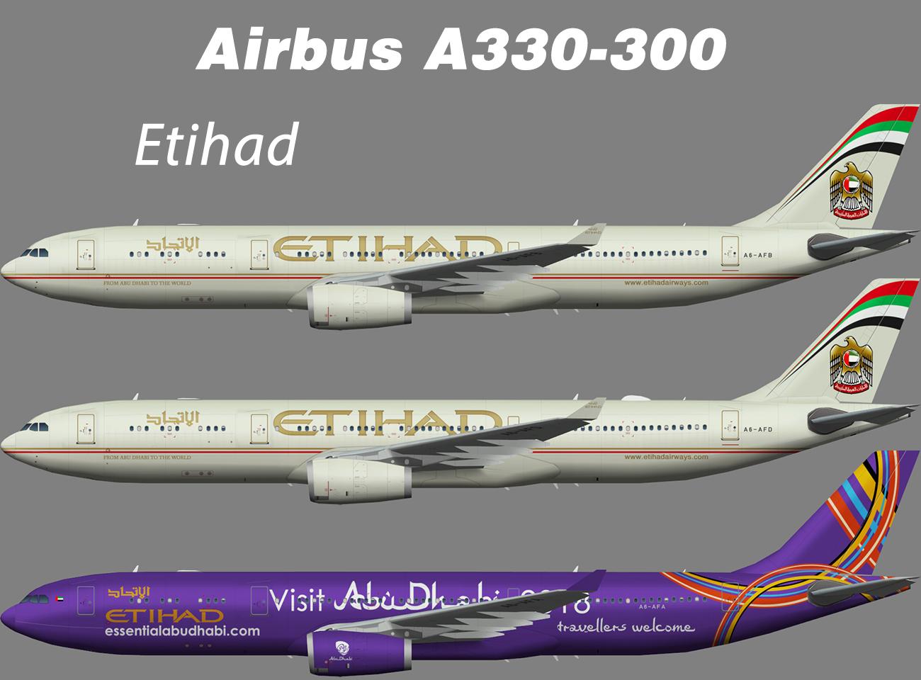 Etihad Airbus A330-300 – Nils