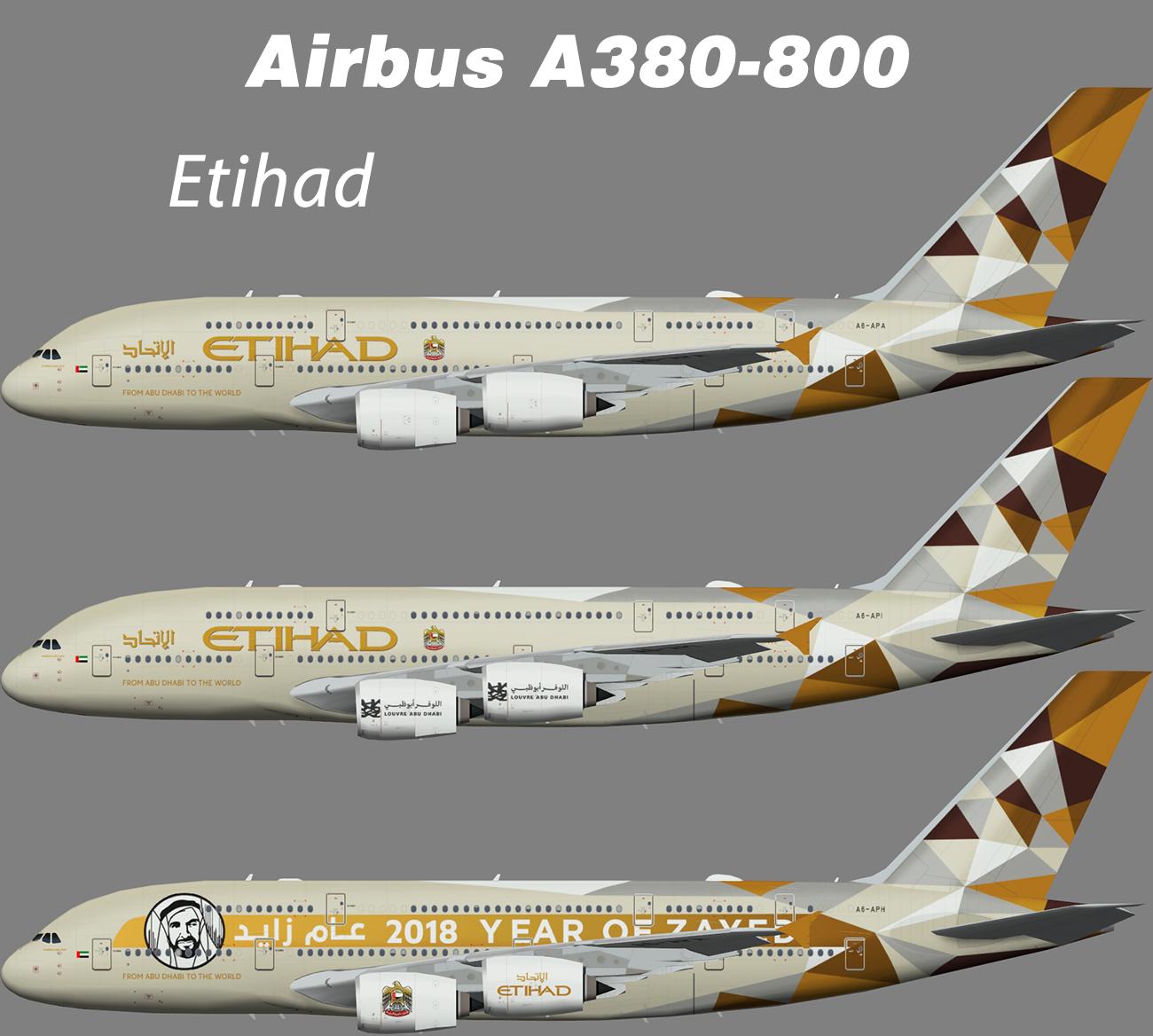 Etihad Airbus A380-800 – Nils