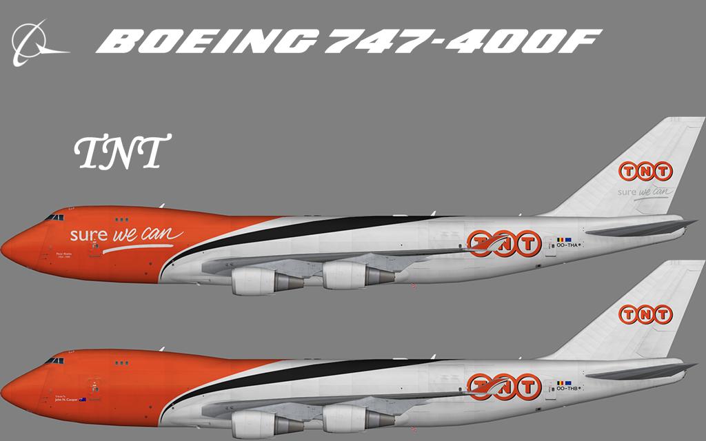 TNT Boeing 747-400F – Nils
