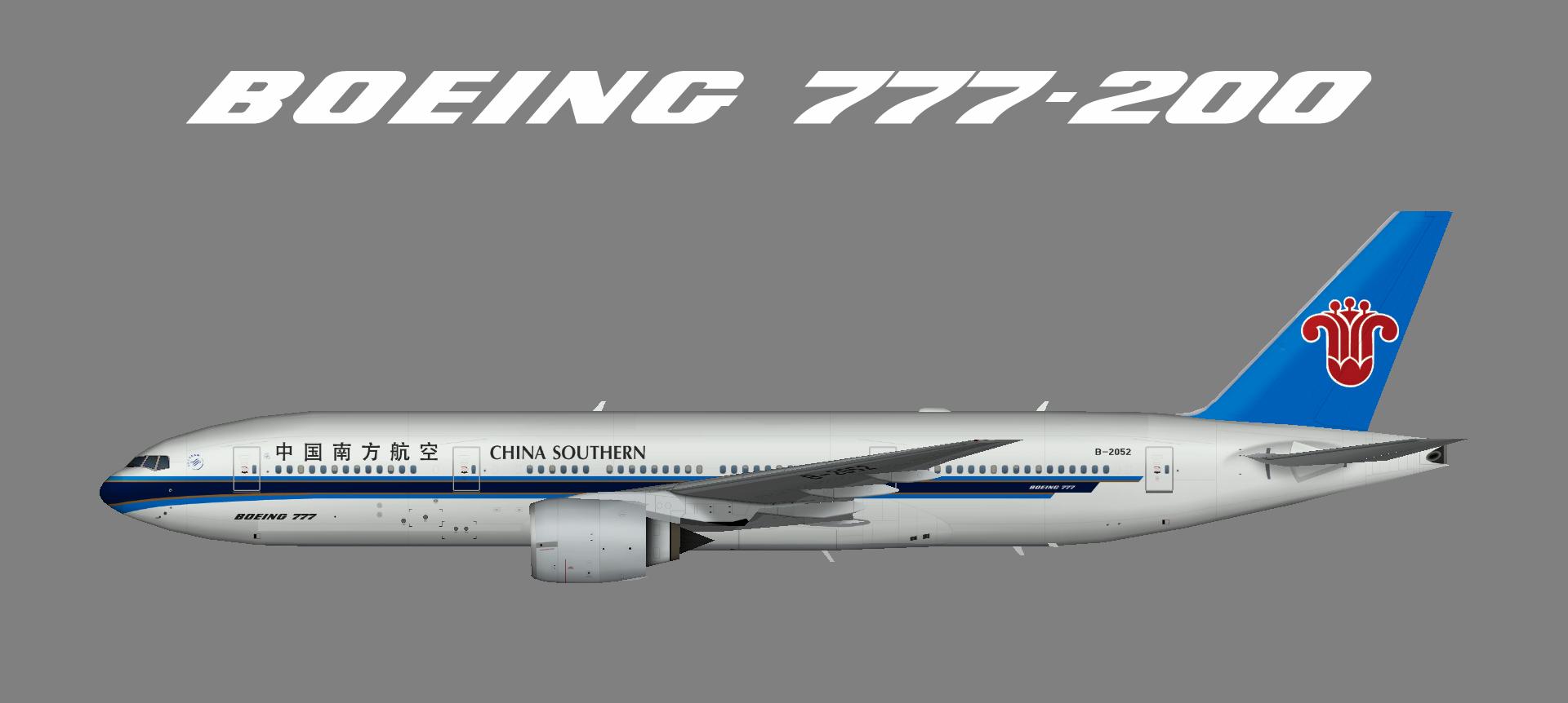 China Southern 777-200