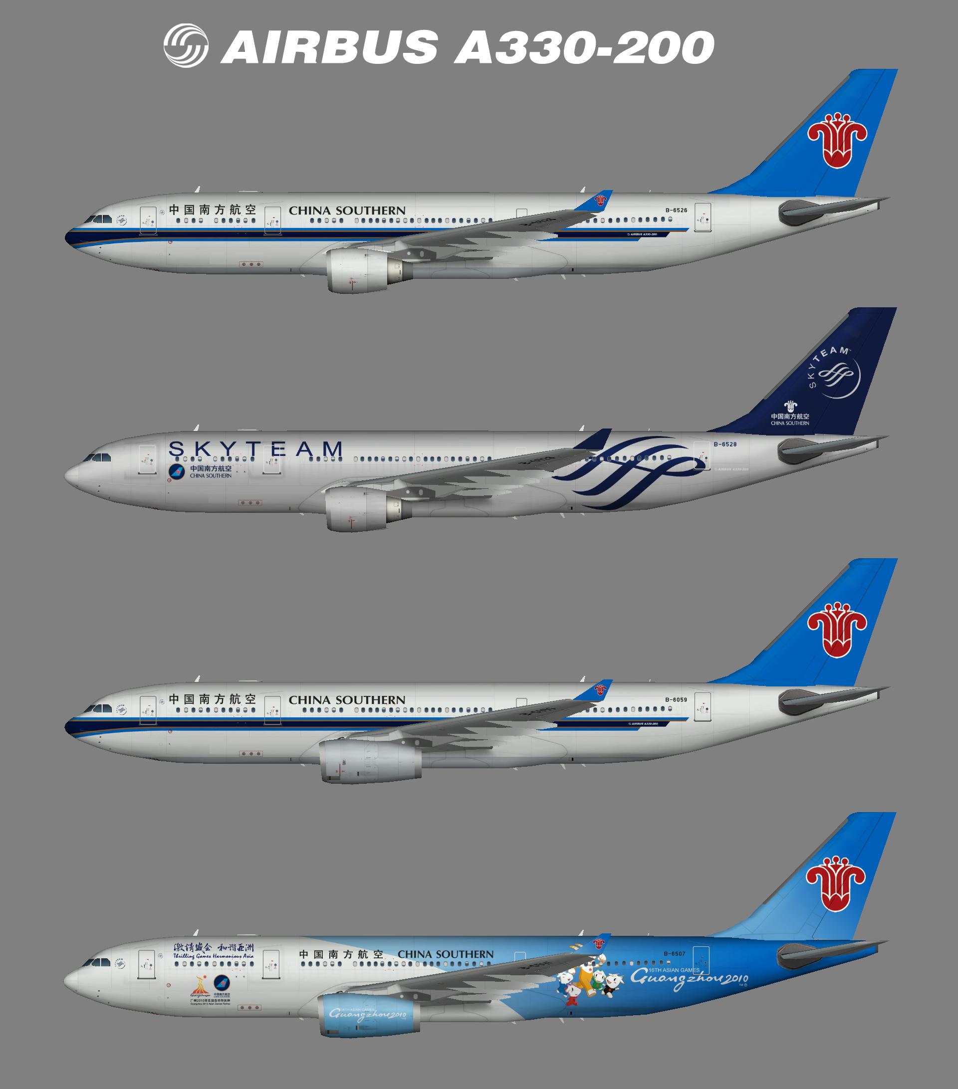 China Southern A330-200