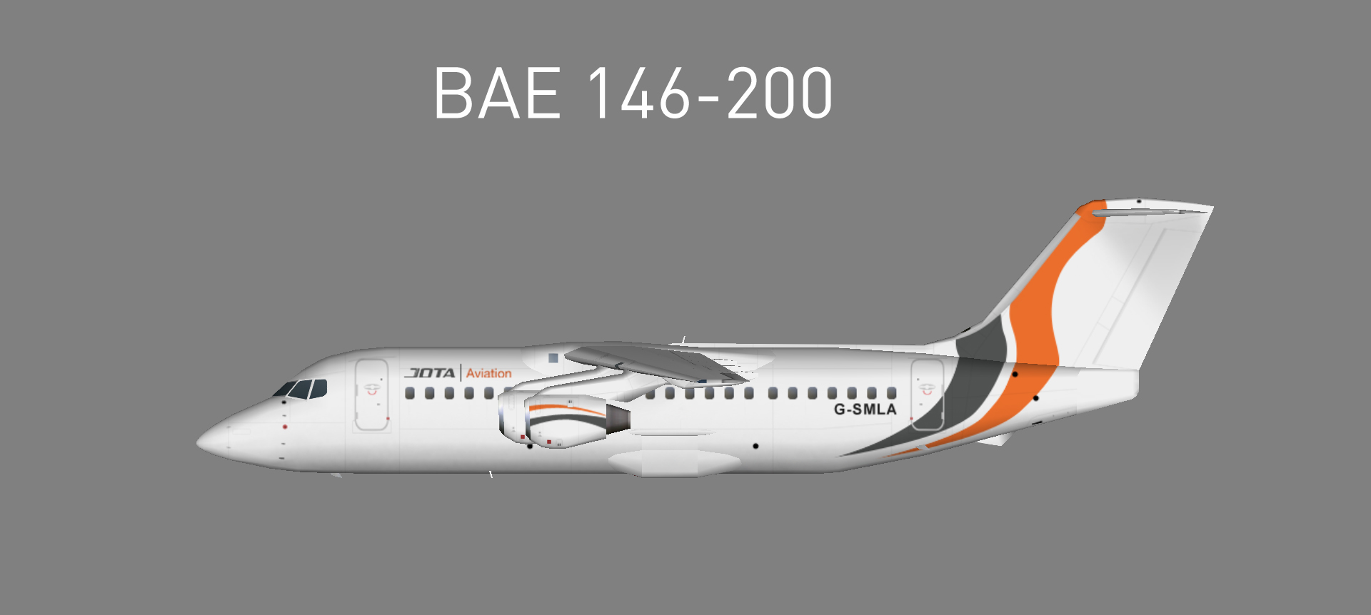 Jota Aviation BAE146-200