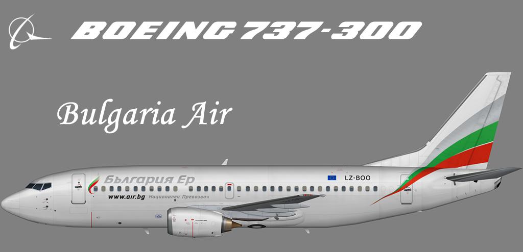 Bulgaria Air Boeing 737-300 – Nils