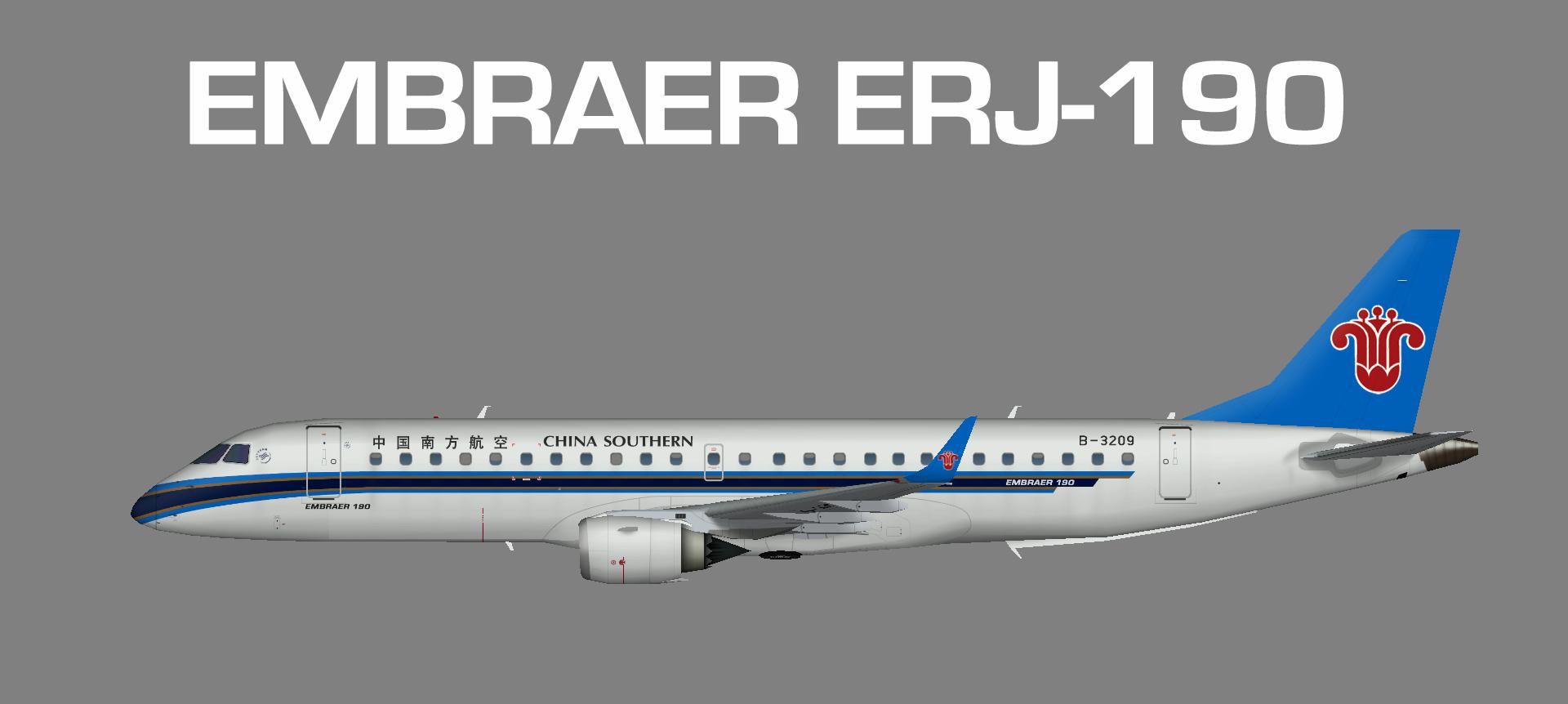 China Southern ERJ190