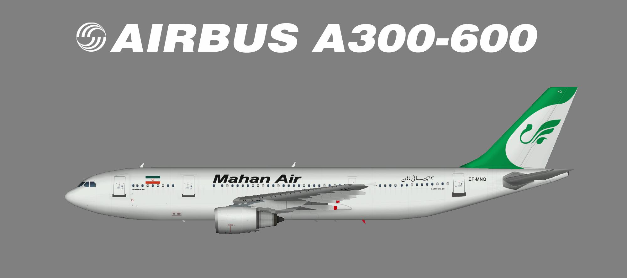 mahan air airbus a300600 � juergens paint hangar