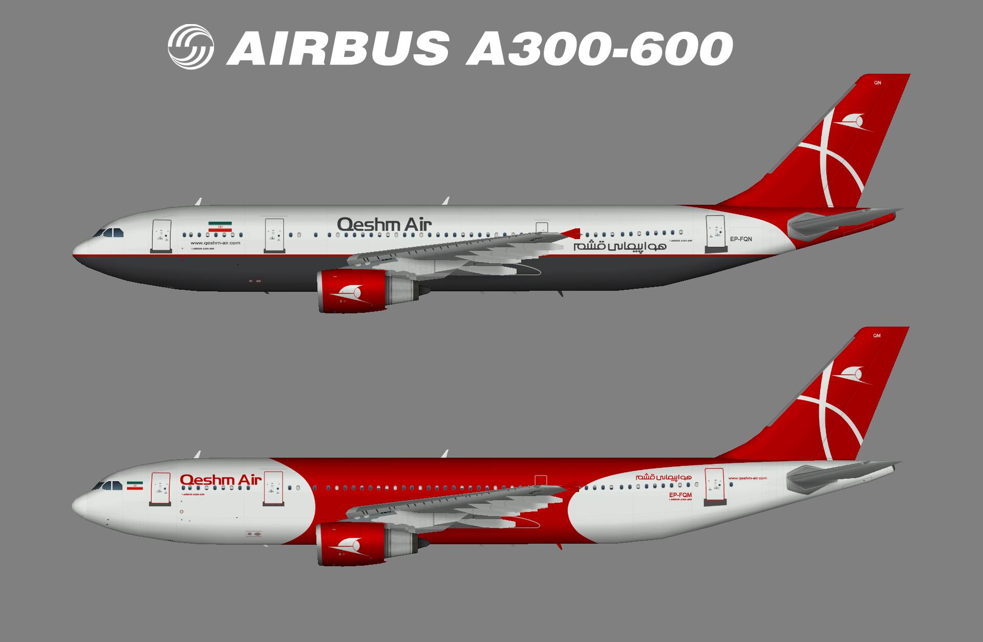 Qeshm Air A300-600