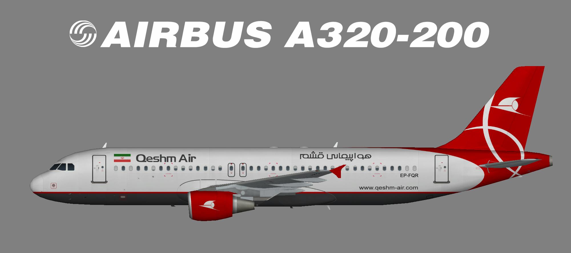 Qeshm Air A320-200