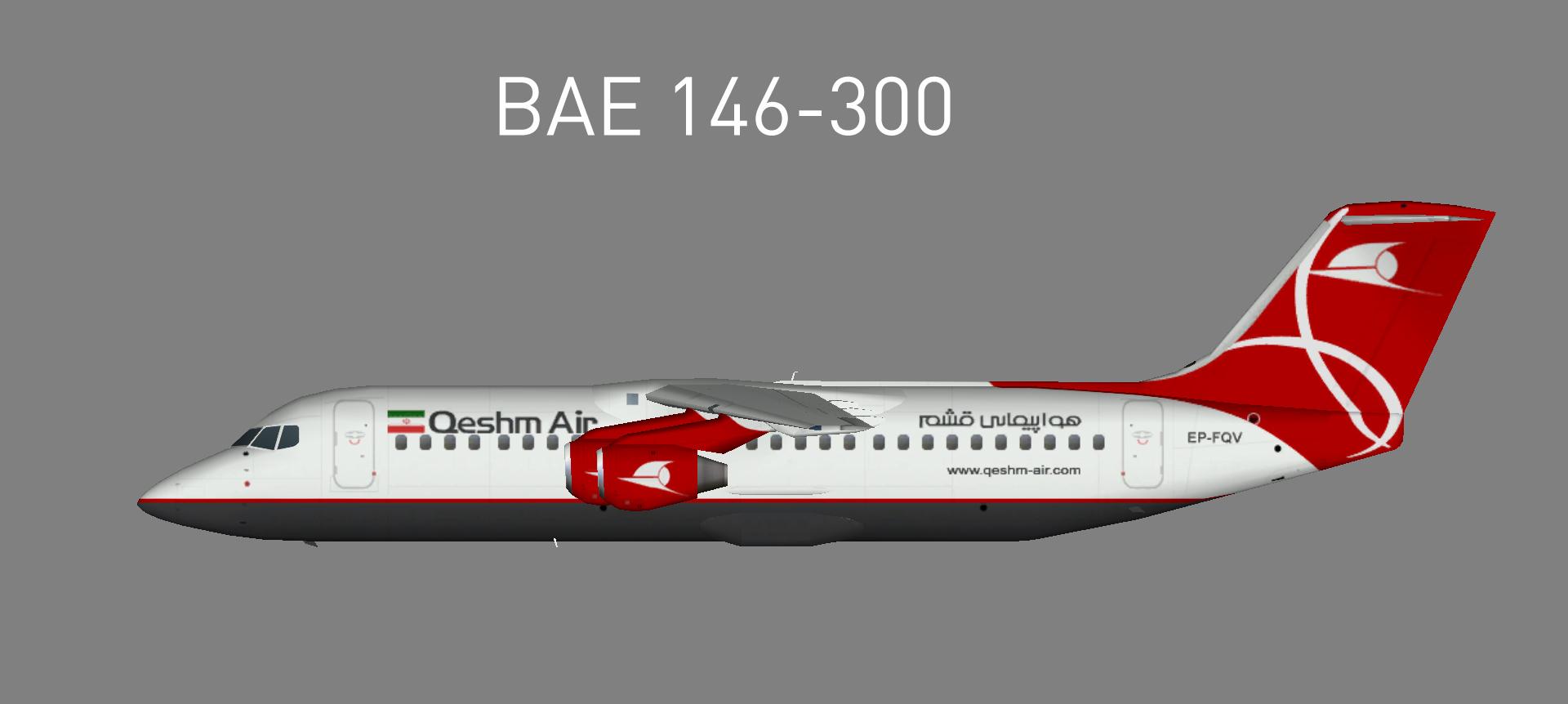 Qeshm Air BAE 146-300