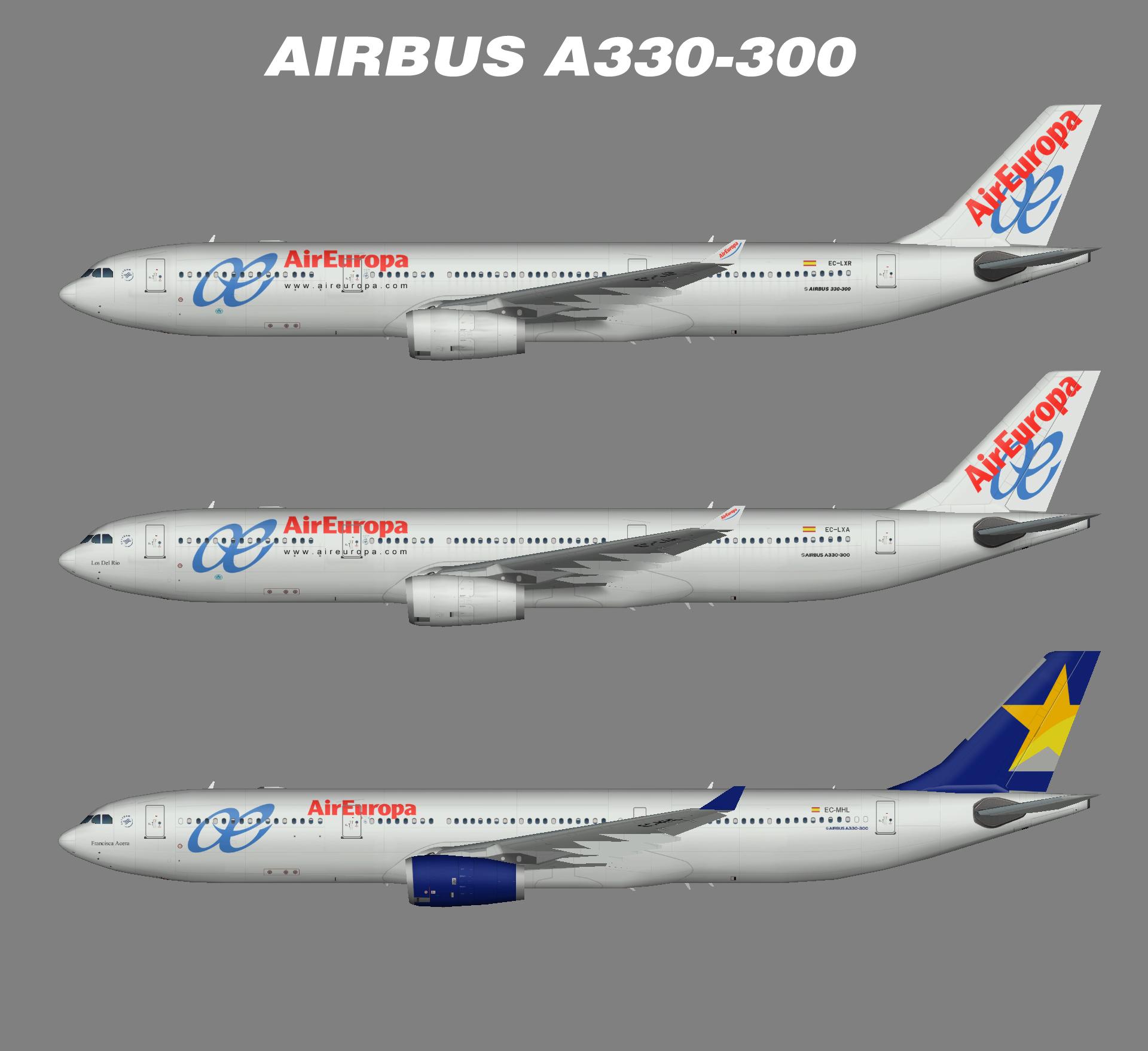 Air Europa – Juergen's paint hangar