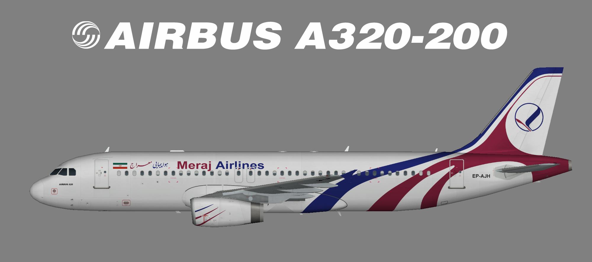 Meraj Air A320-200