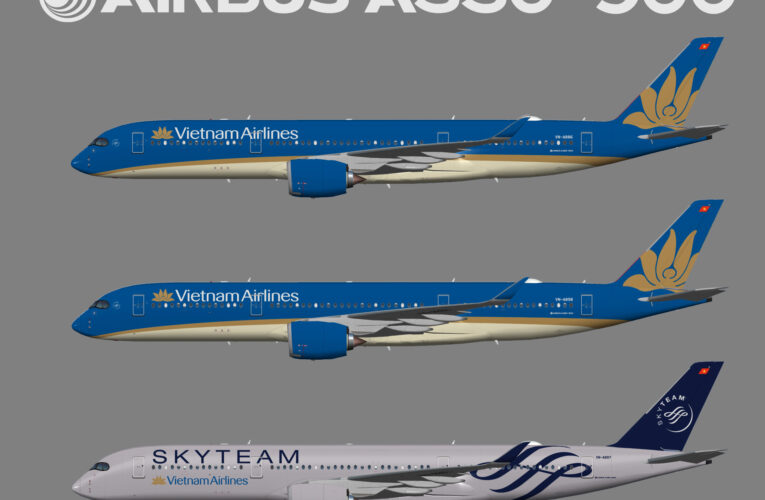 UTT Vietnam Airlines Airbus A350-900