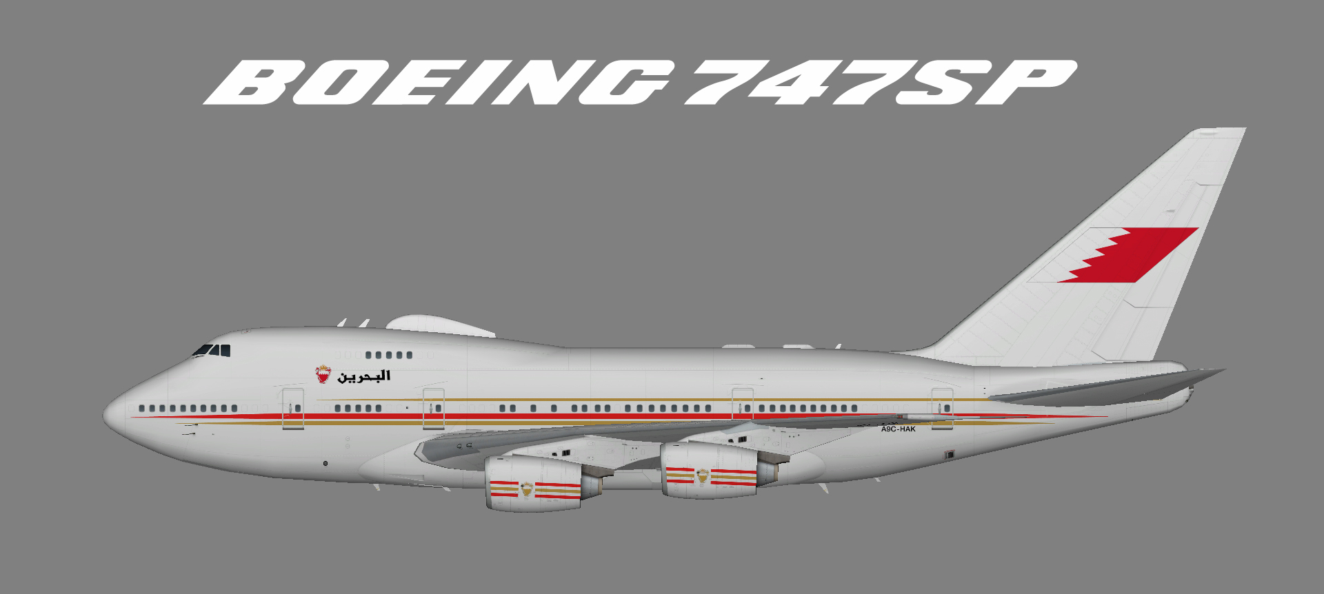 Bahrain Royal Flight 747SP