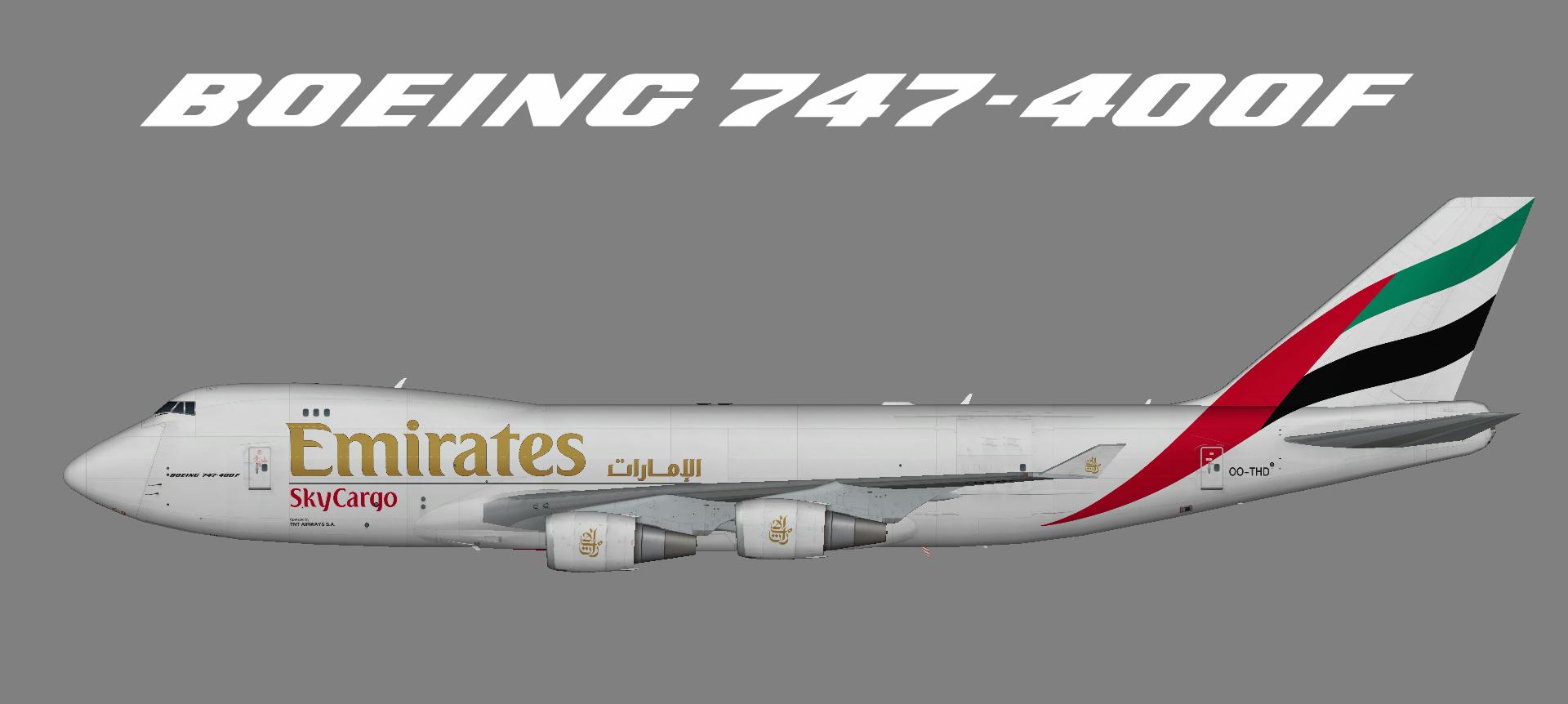 Emirates Skycargo 747-400F