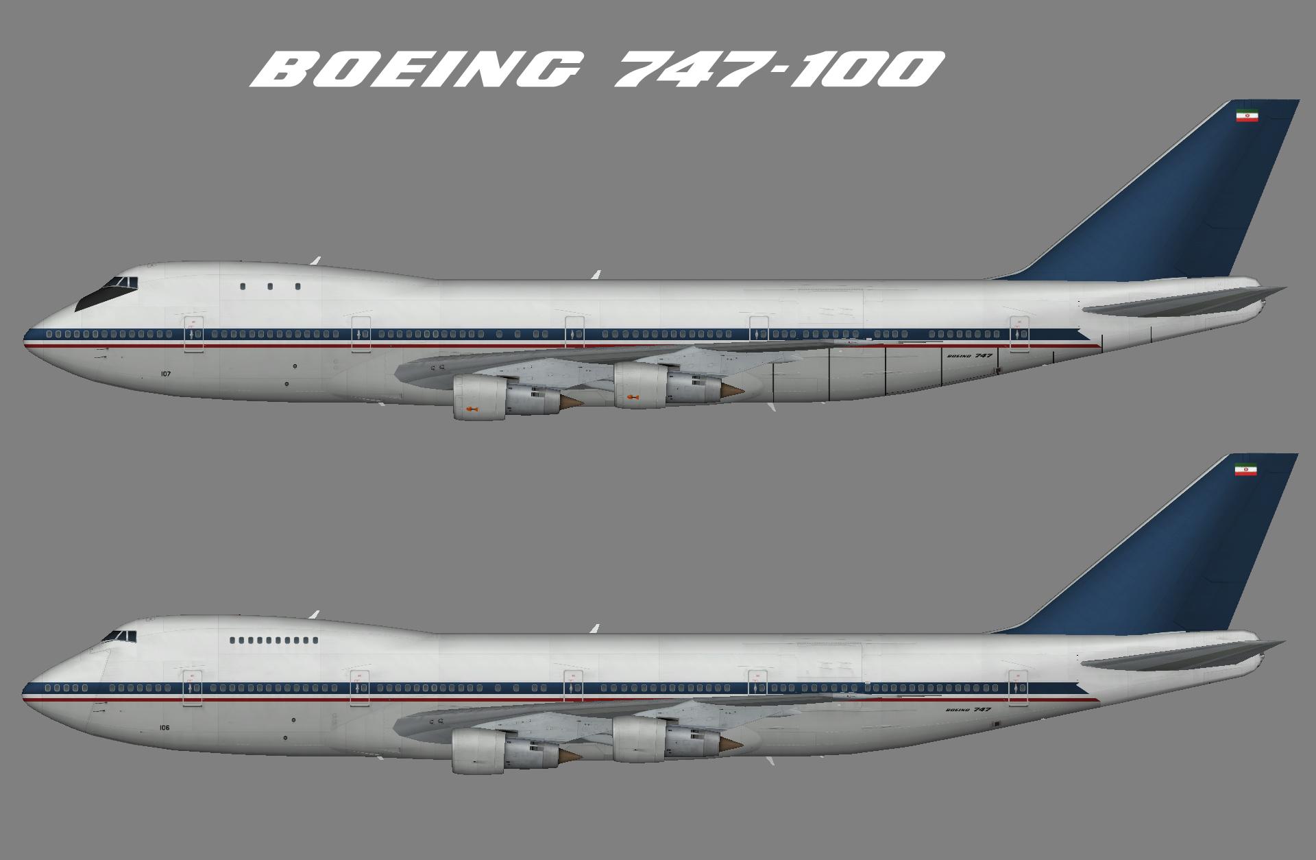 Iran Air Force 747-100