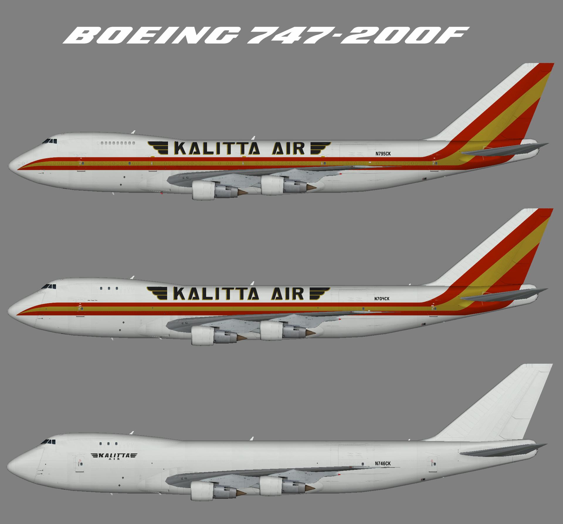 Kalitta Air Boeing 747-200F