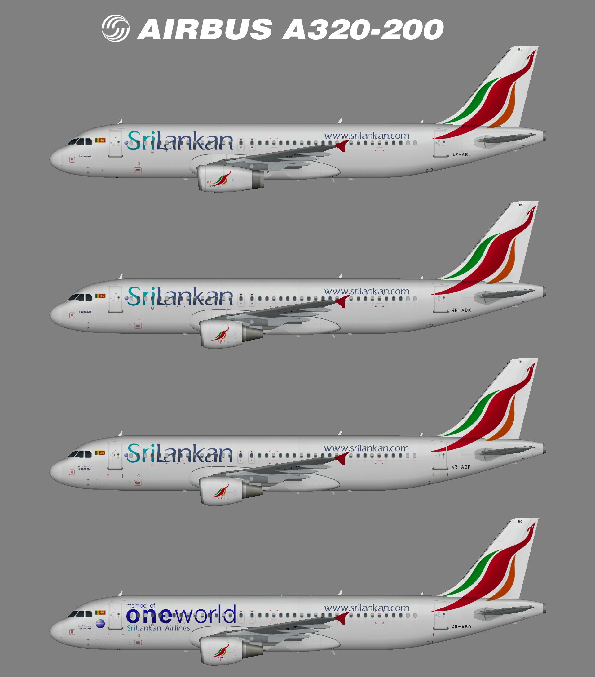 SriLankan A320-200