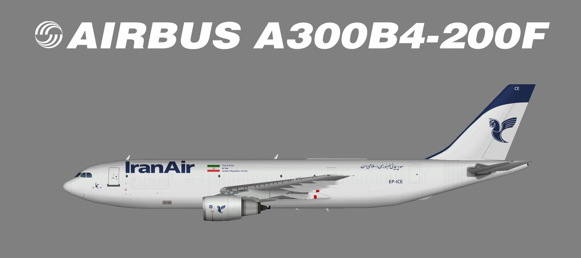 Iran Air Cargo A300B4-200