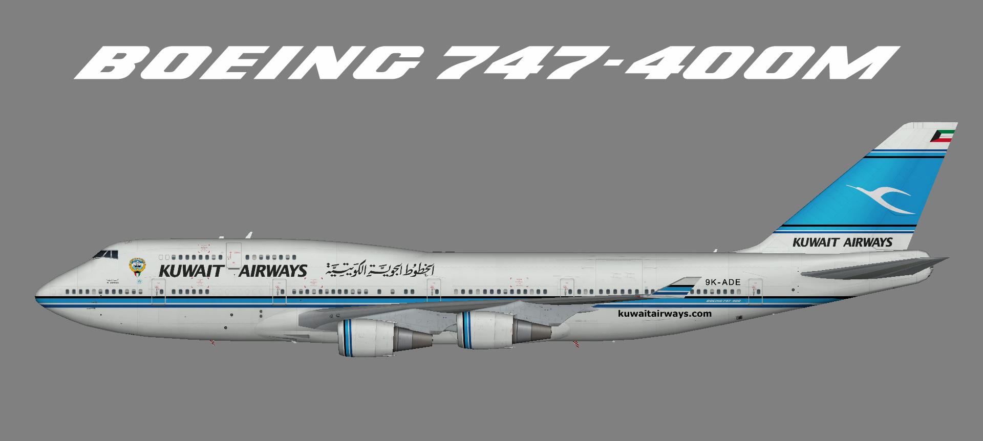 Kuwait 747-400