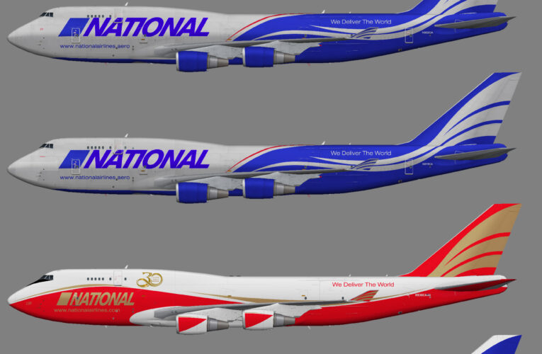 National Airlines Boeing 747-400 (BCF)