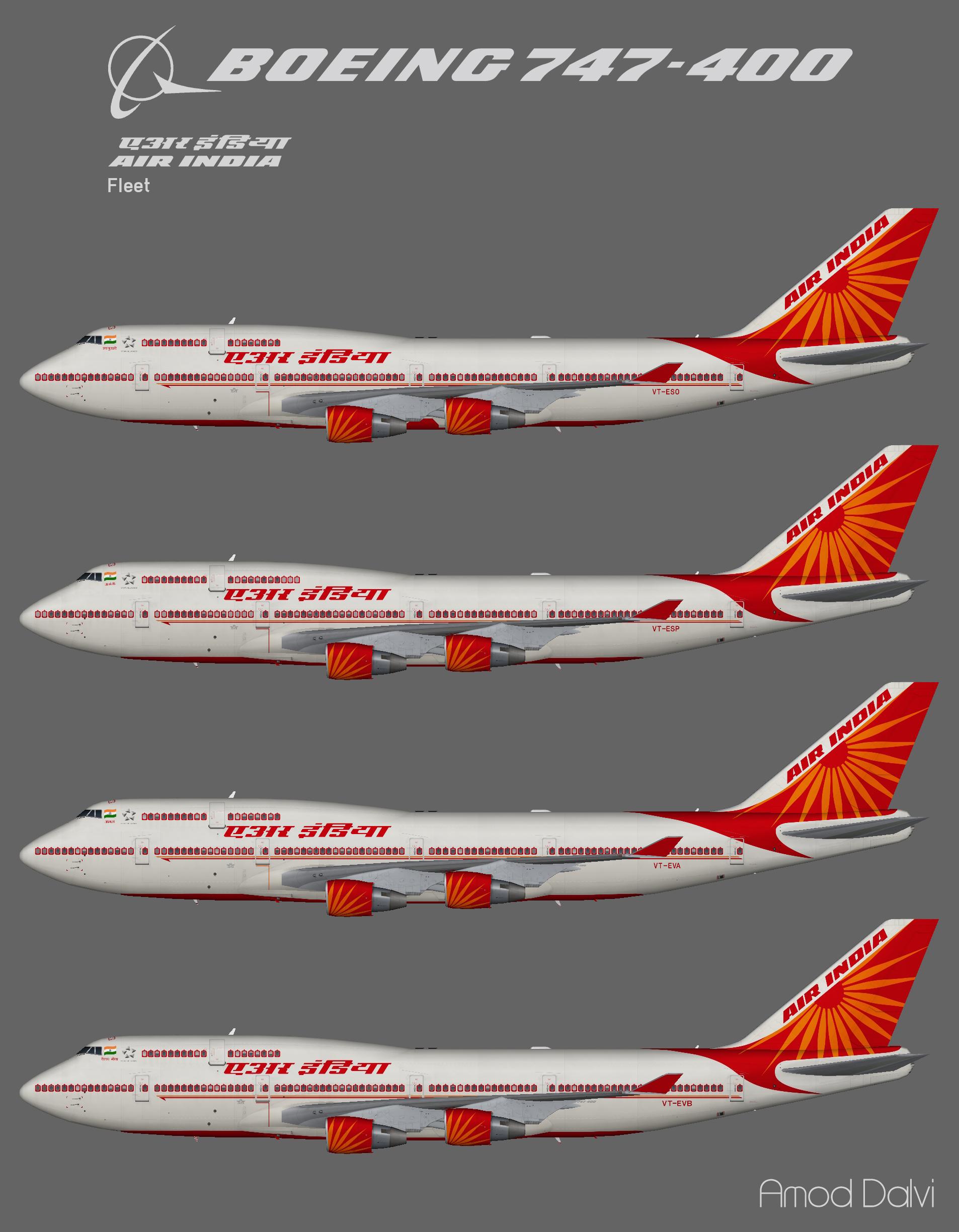Air India Boeing 747-400 – Amod