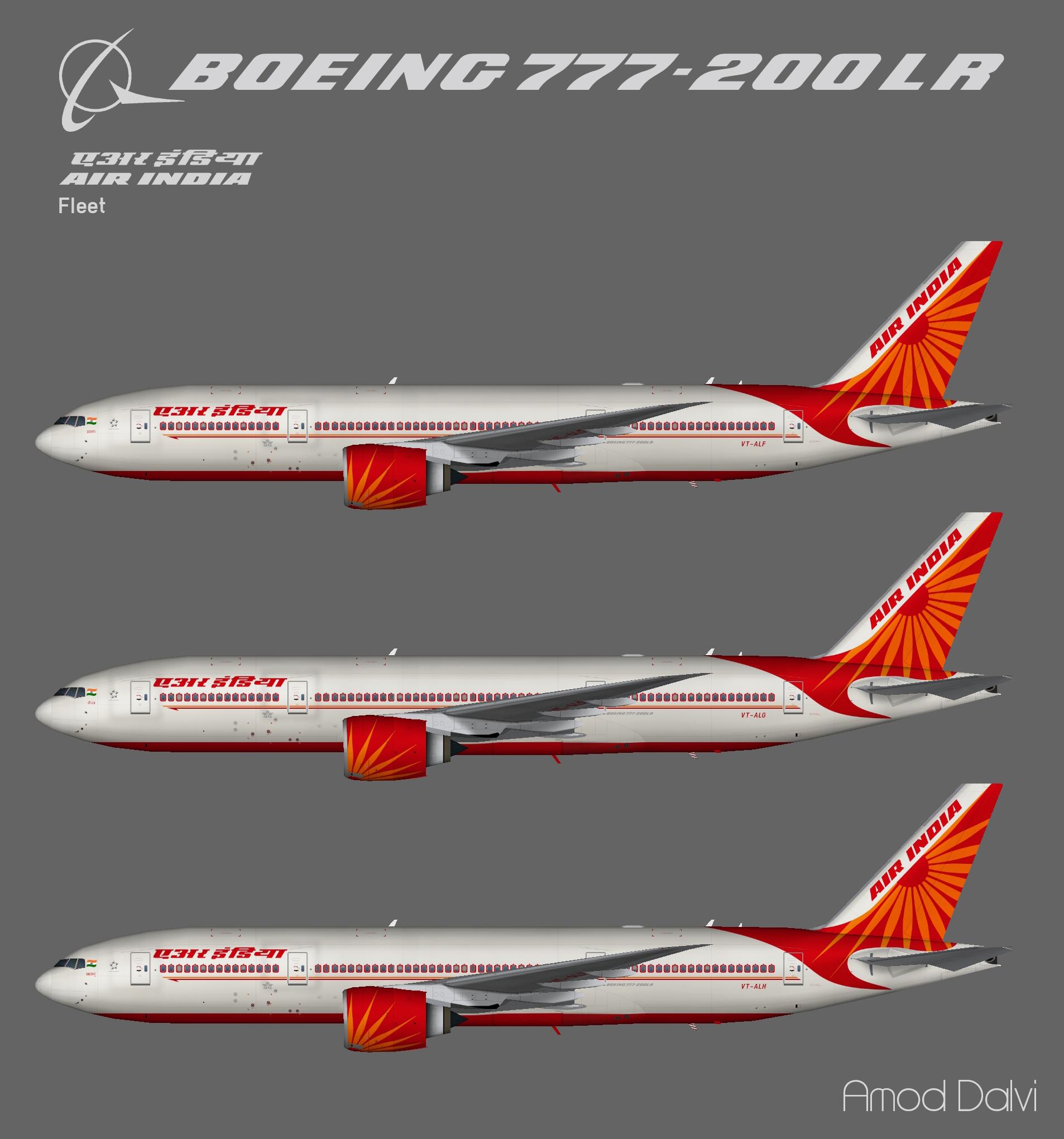 Air India Boeing 777-200LR – Amod