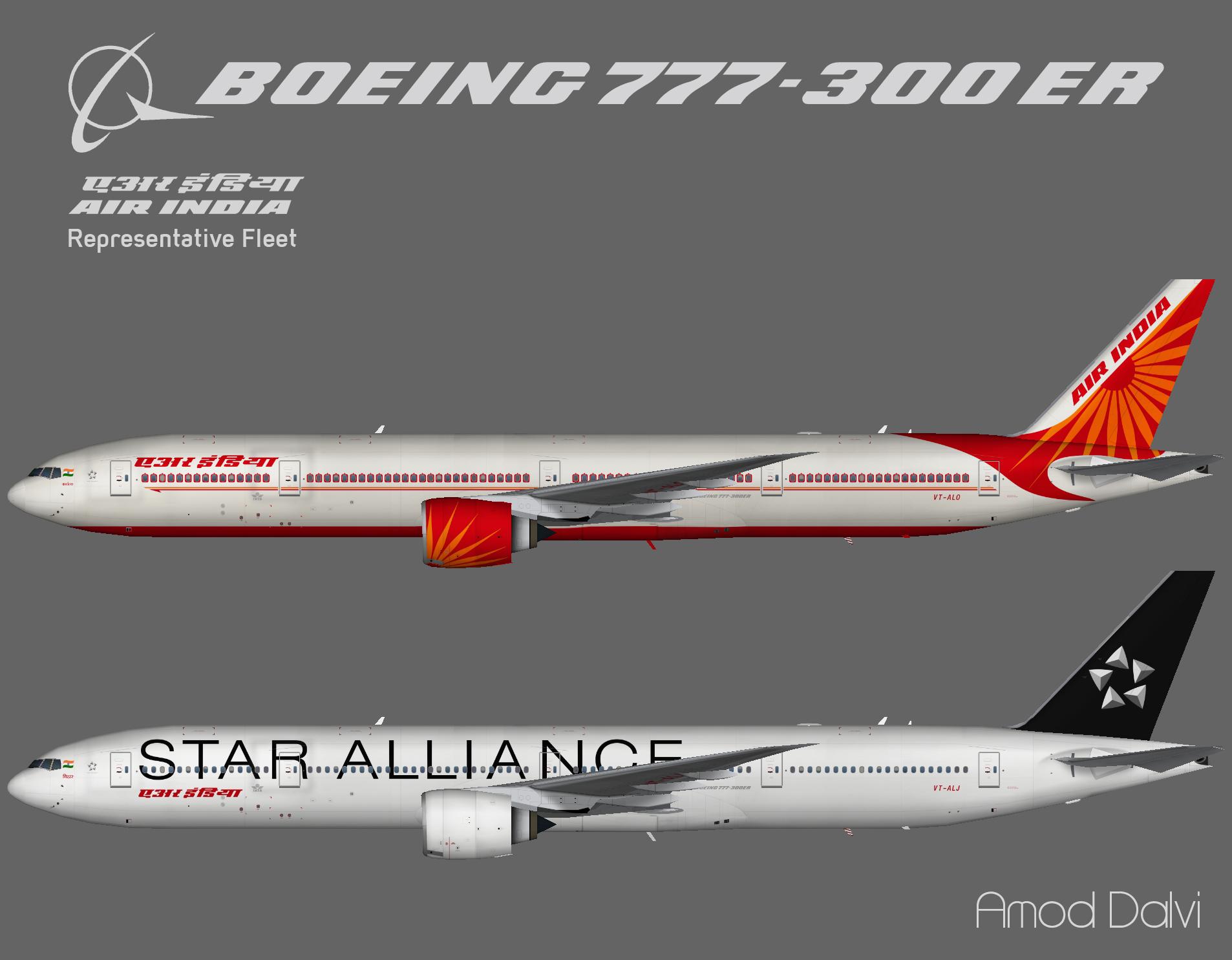 Air India Boeing 777-300ER – Amod