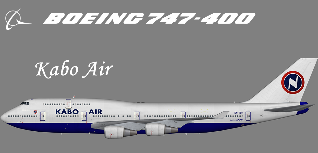 Kabo Air Boeing 747-400 – Nils