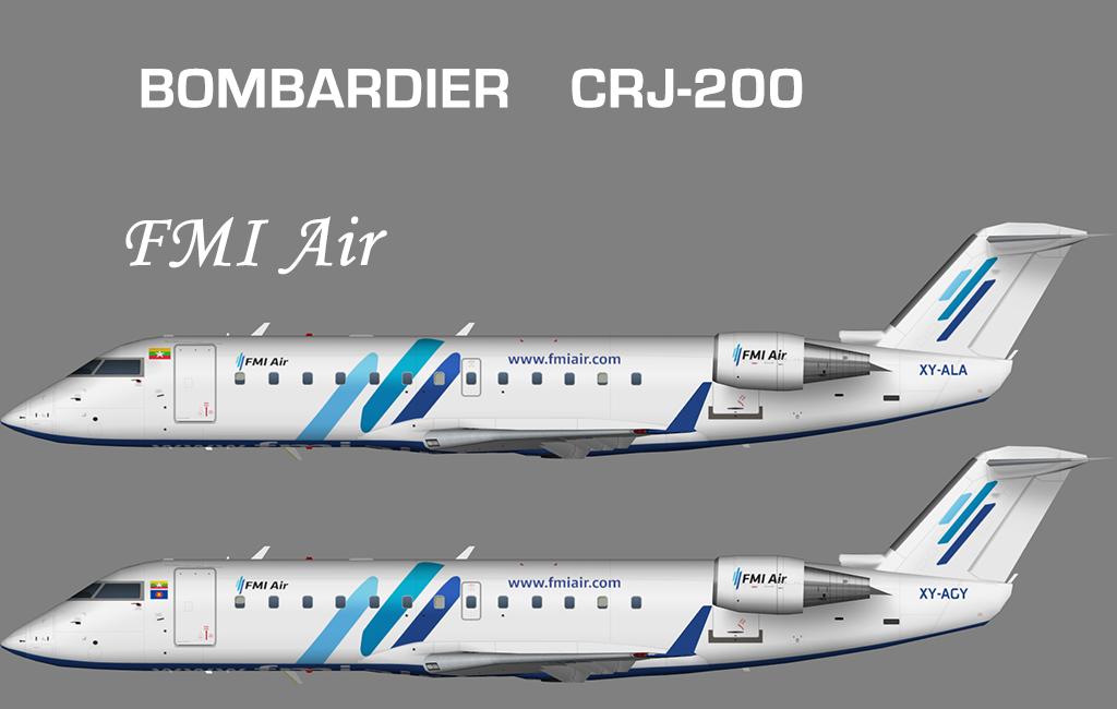 FMI Air Bombardier CRJ-200 – Nils