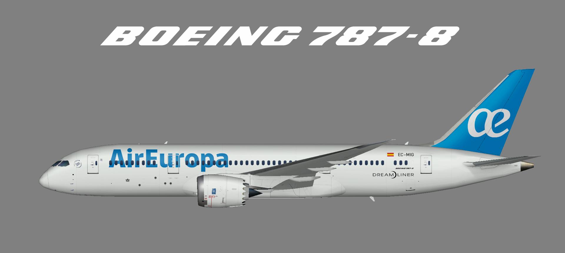 Air Europa 787-8