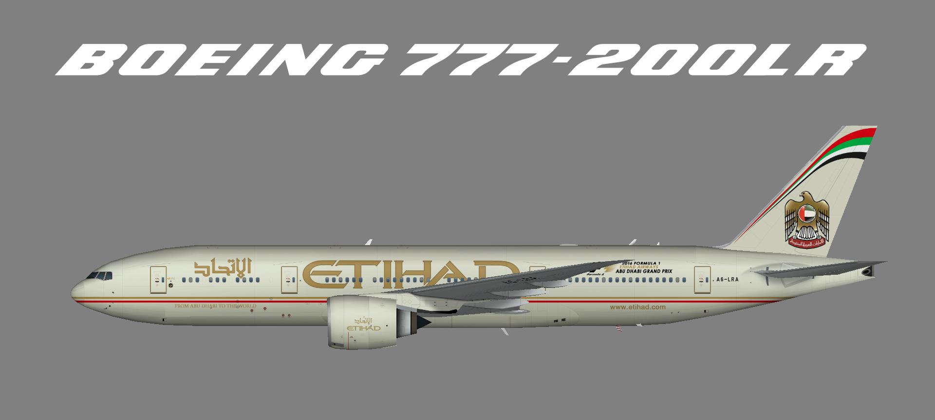 Etihad 777-200LR