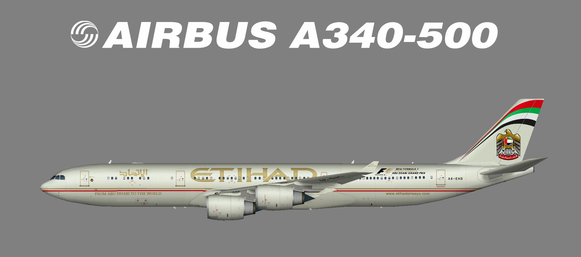 Etihad A340-500