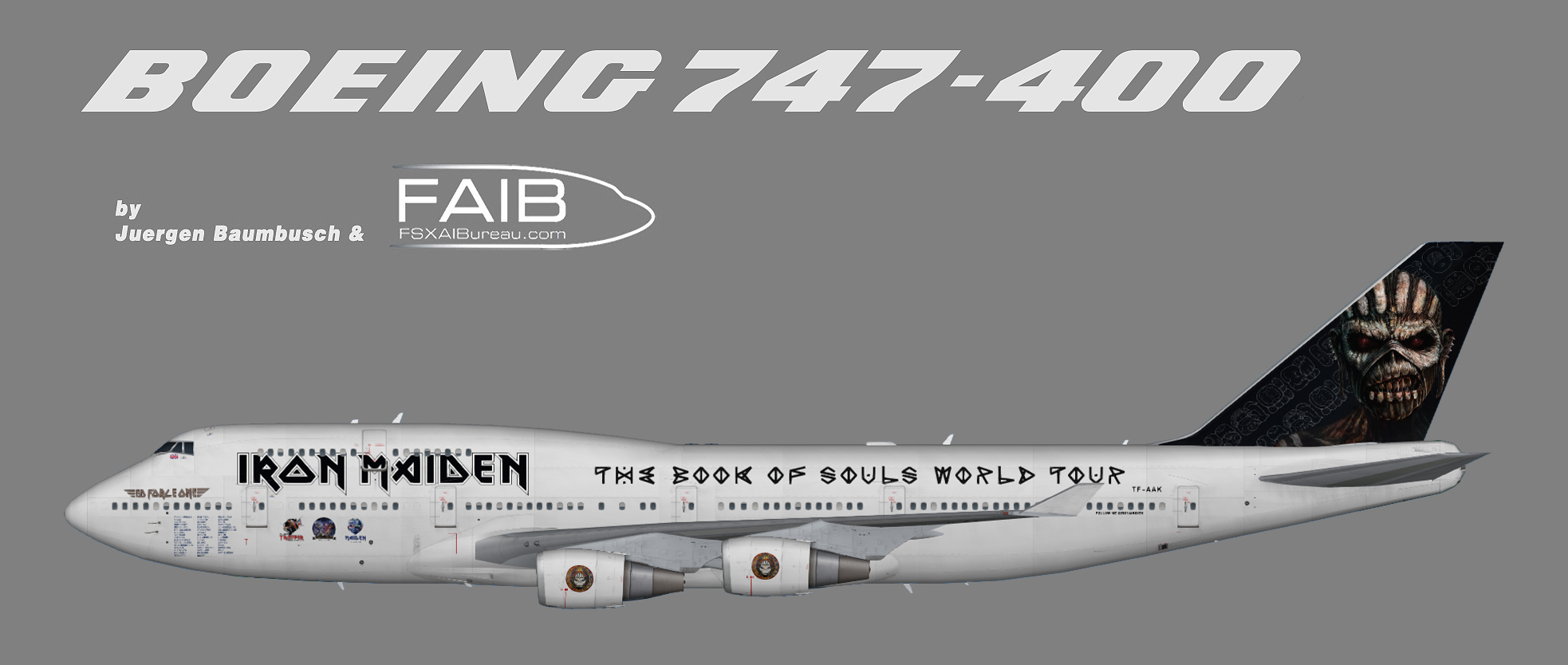 iron maiden 'ed force one' boeing 747-400 (opb air atlanta icelandic
