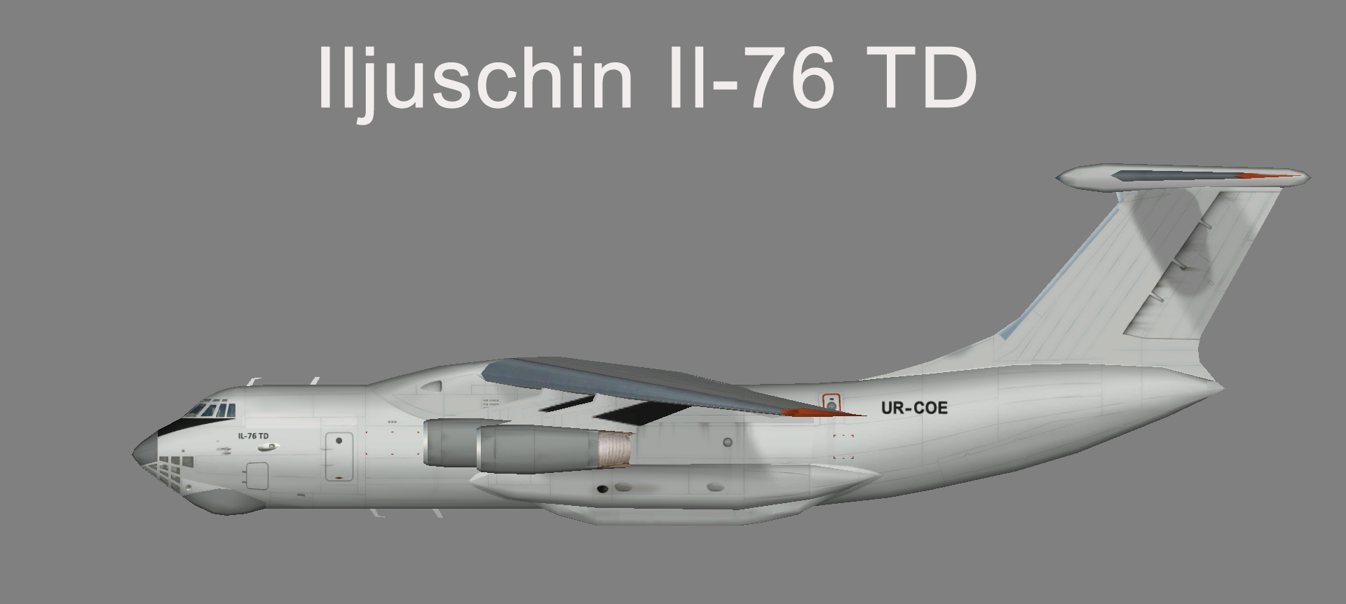 Ukraine Air Europe Il-76