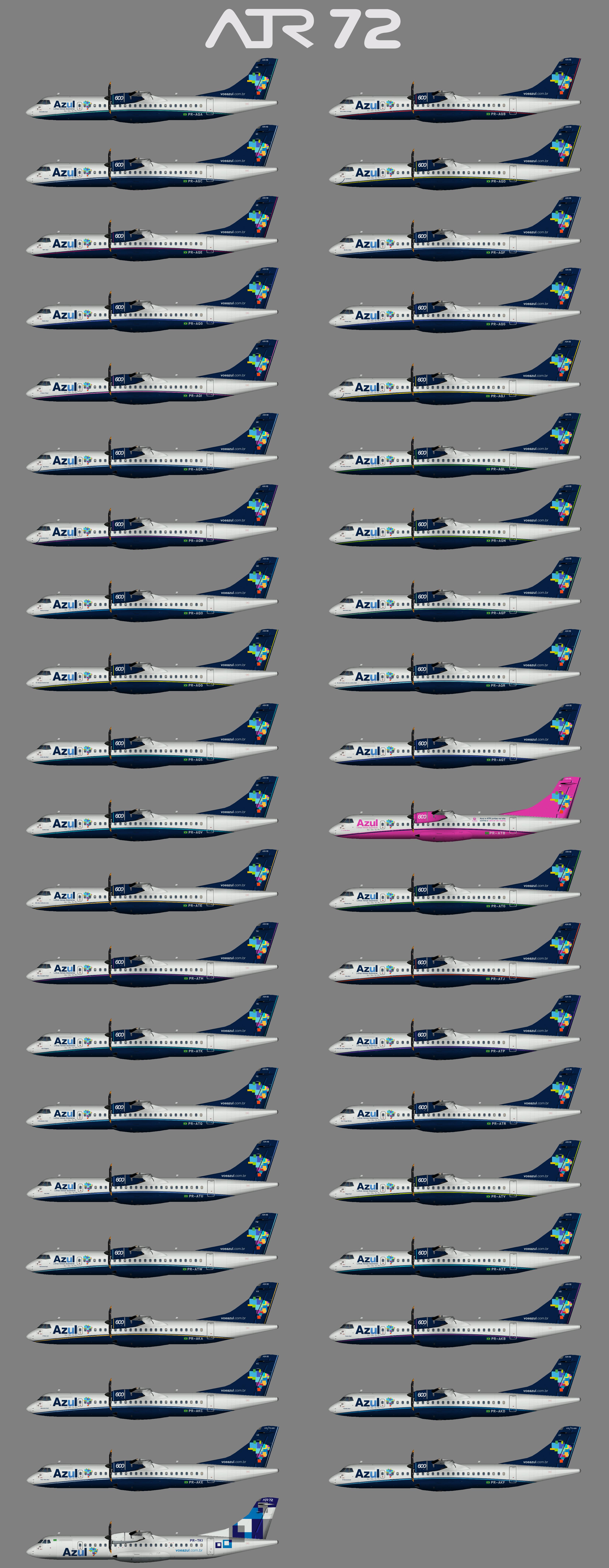 Azul ATR72