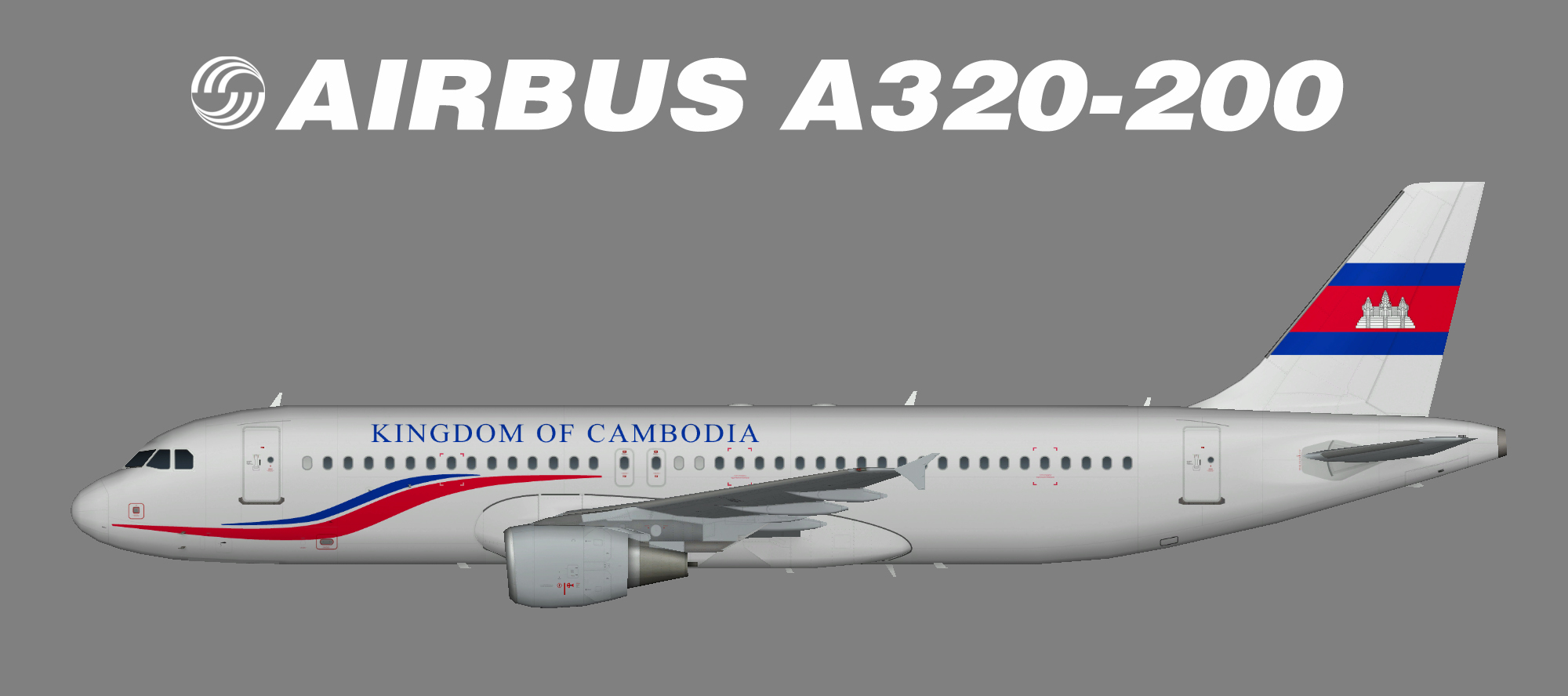 Kingdom of Cambodia A320-200